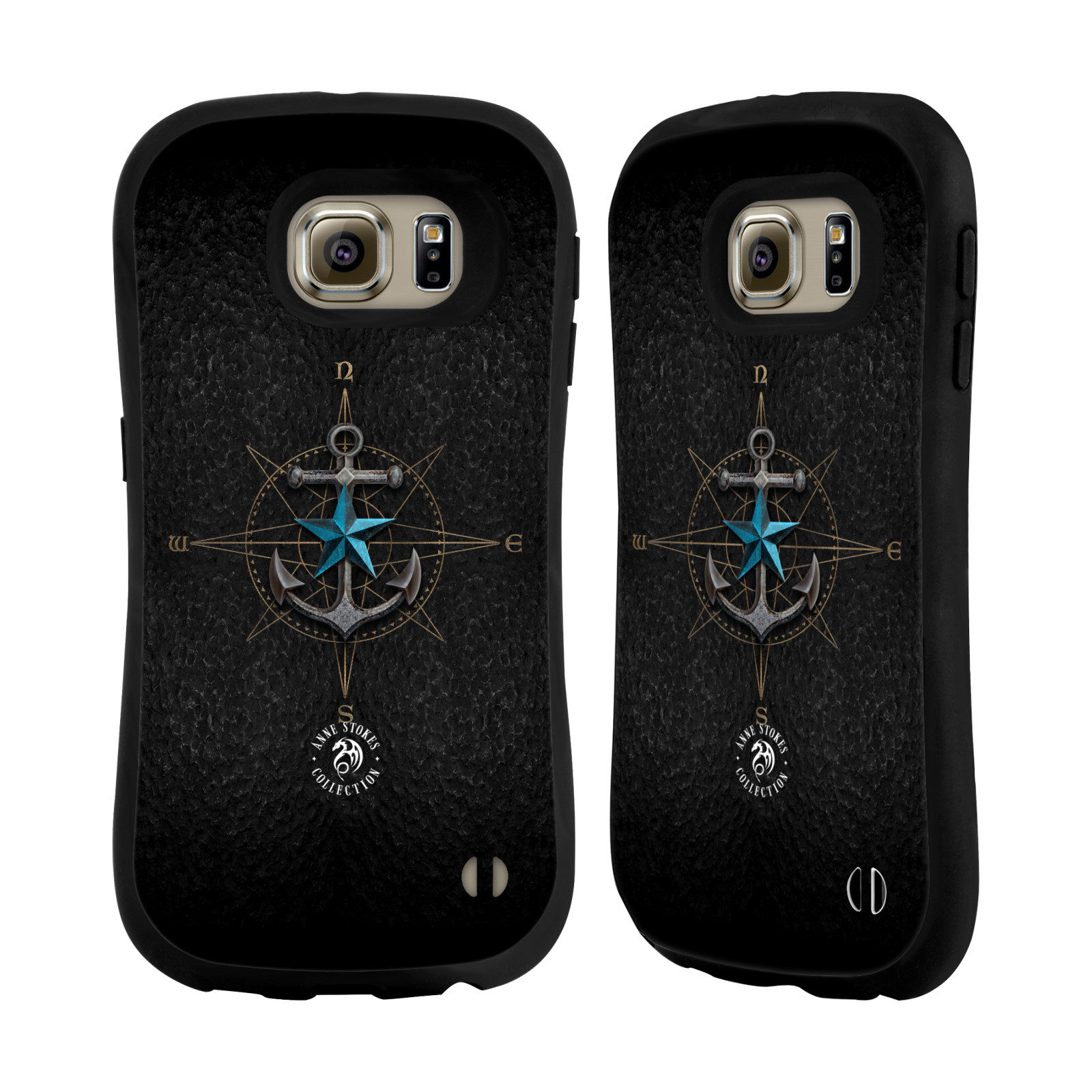 OFFICIEL-ANNE-STOKES-ORNEMENTS-ETUI-COQUE-HYBRIDE-POUR-SAMSUNG-TELEPHONES