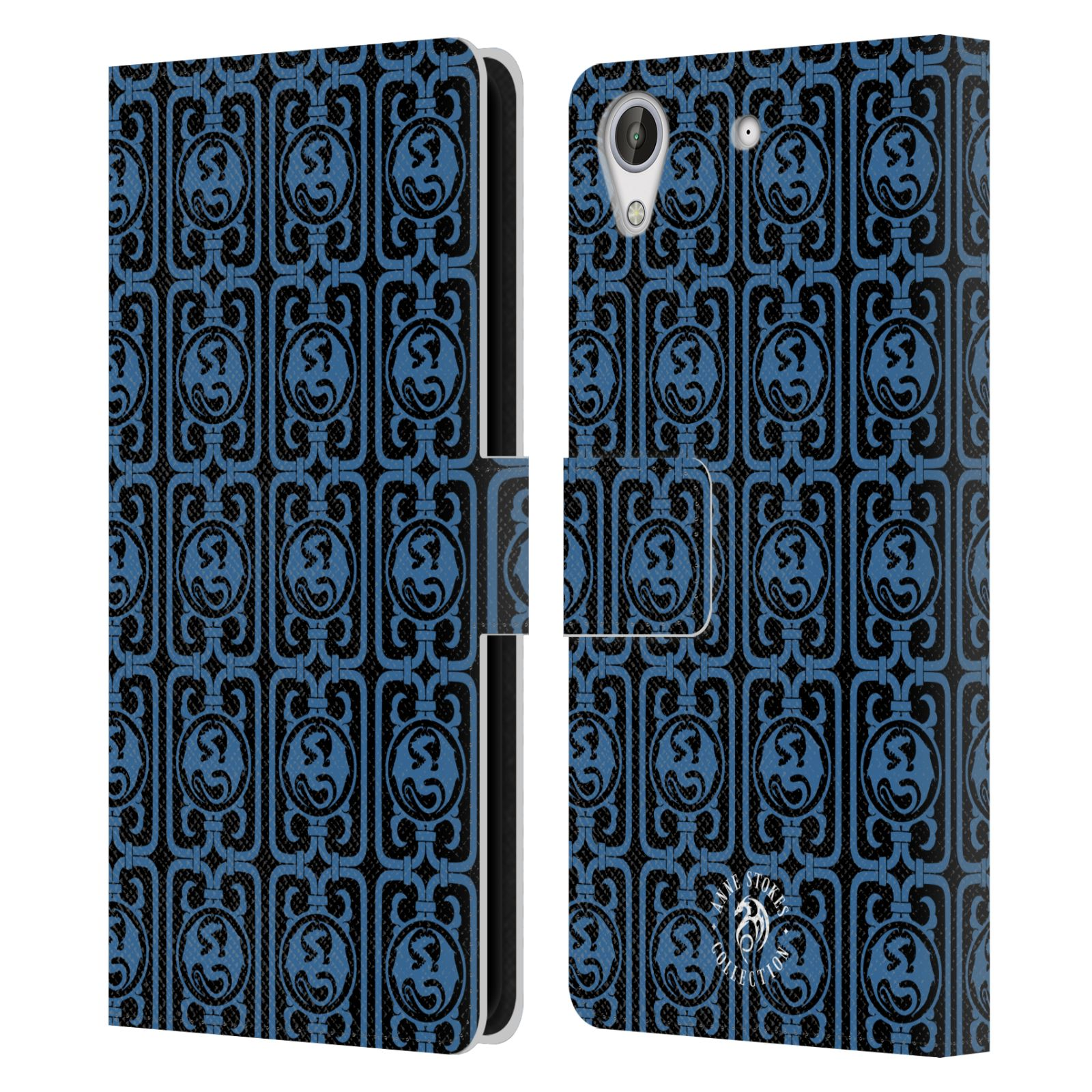 OFFICIAL-ANNE-STOKES-ORNAMENTS-LEATHER-BOOK-WALLET-CASE-COVER-FOR-HTC-PHONES-2