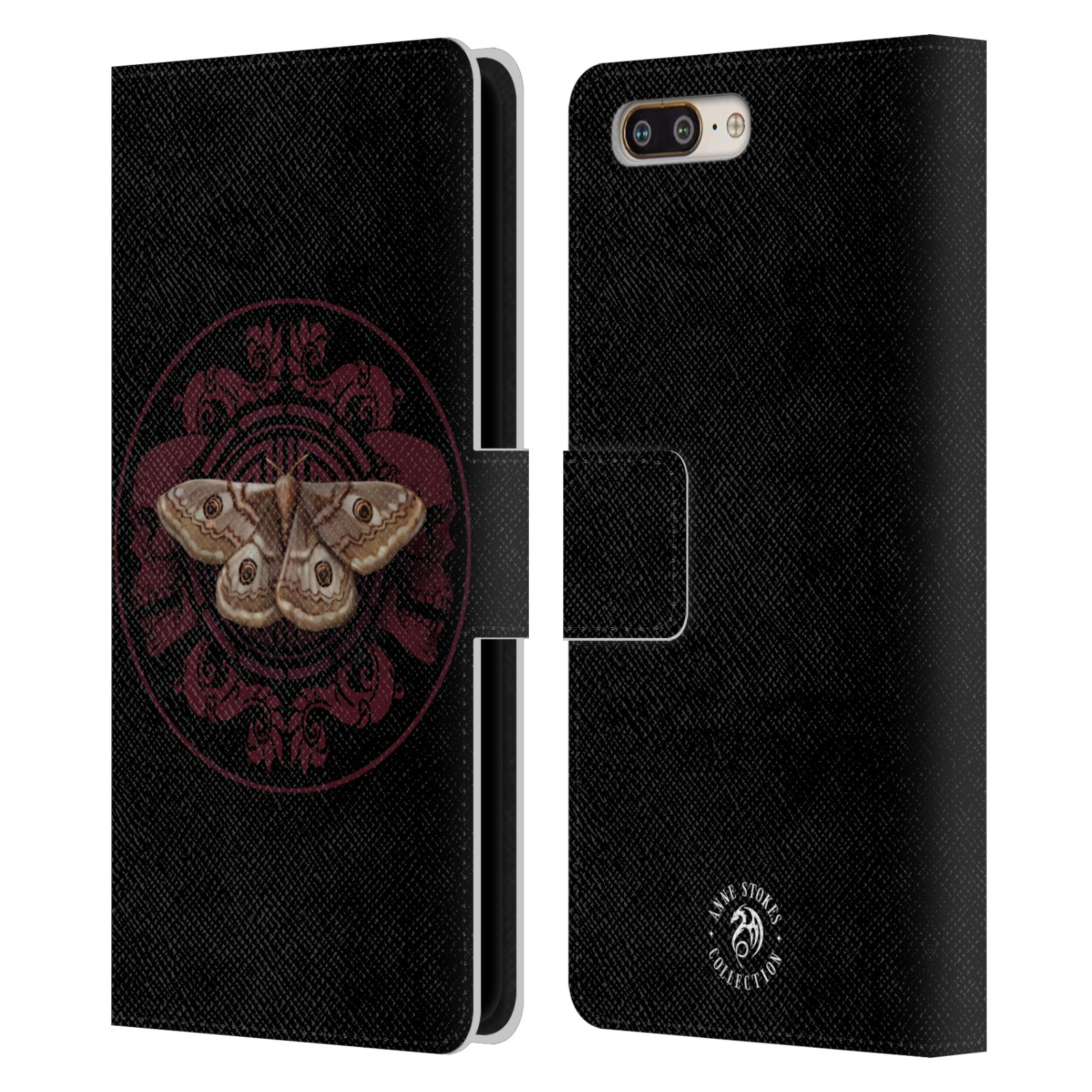 OFFICIAL-ANNE-STOKES-ORNAMENTS-LEATHER-BOOK-WALLET-CASE-FOR-BLACKBERRY-ONEPLUS