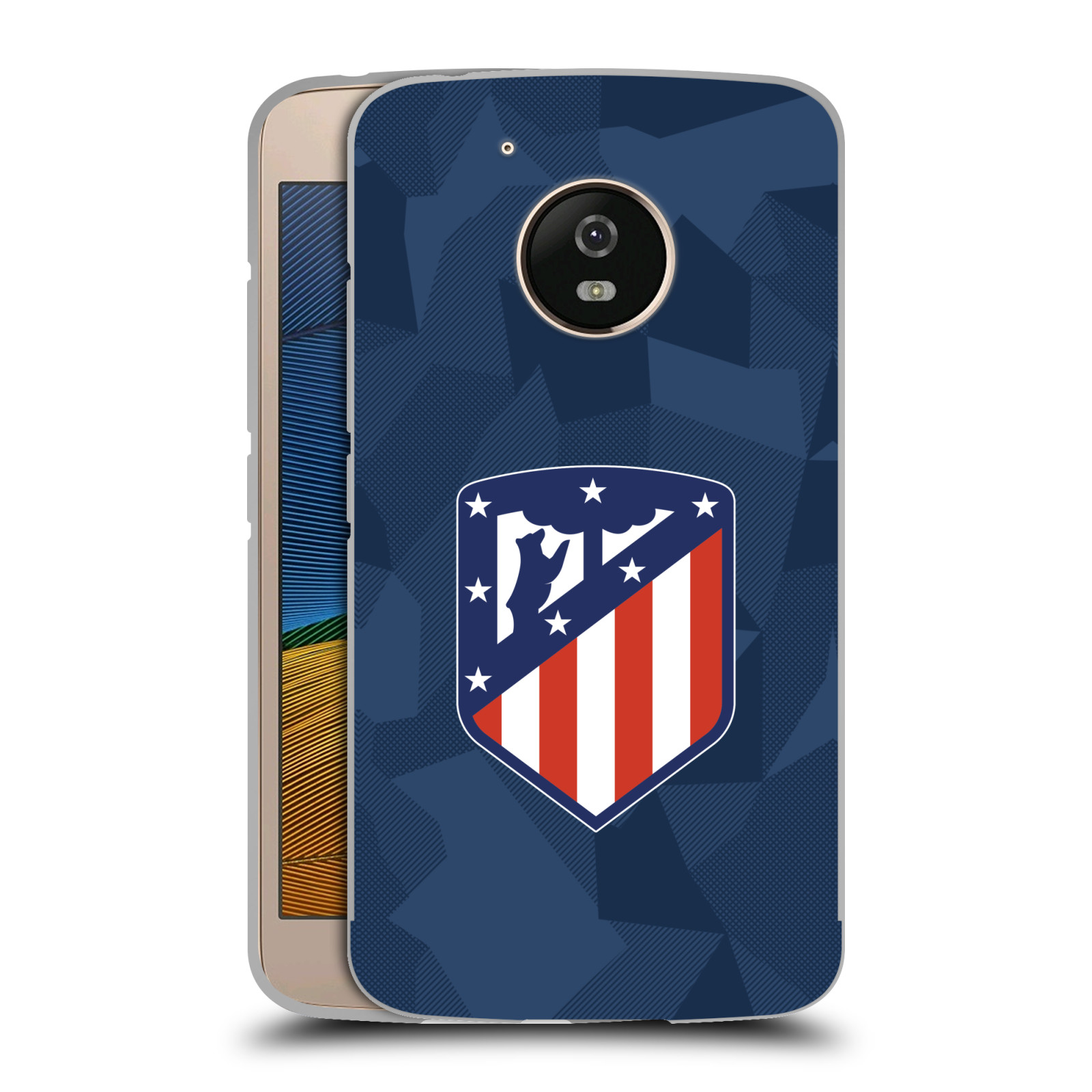 ATLETICO-MADRID-2017-18-CREST-KIT-BLACK-METALLIC-ALUMINIUM-FOR-MOTOROLA-PHONES