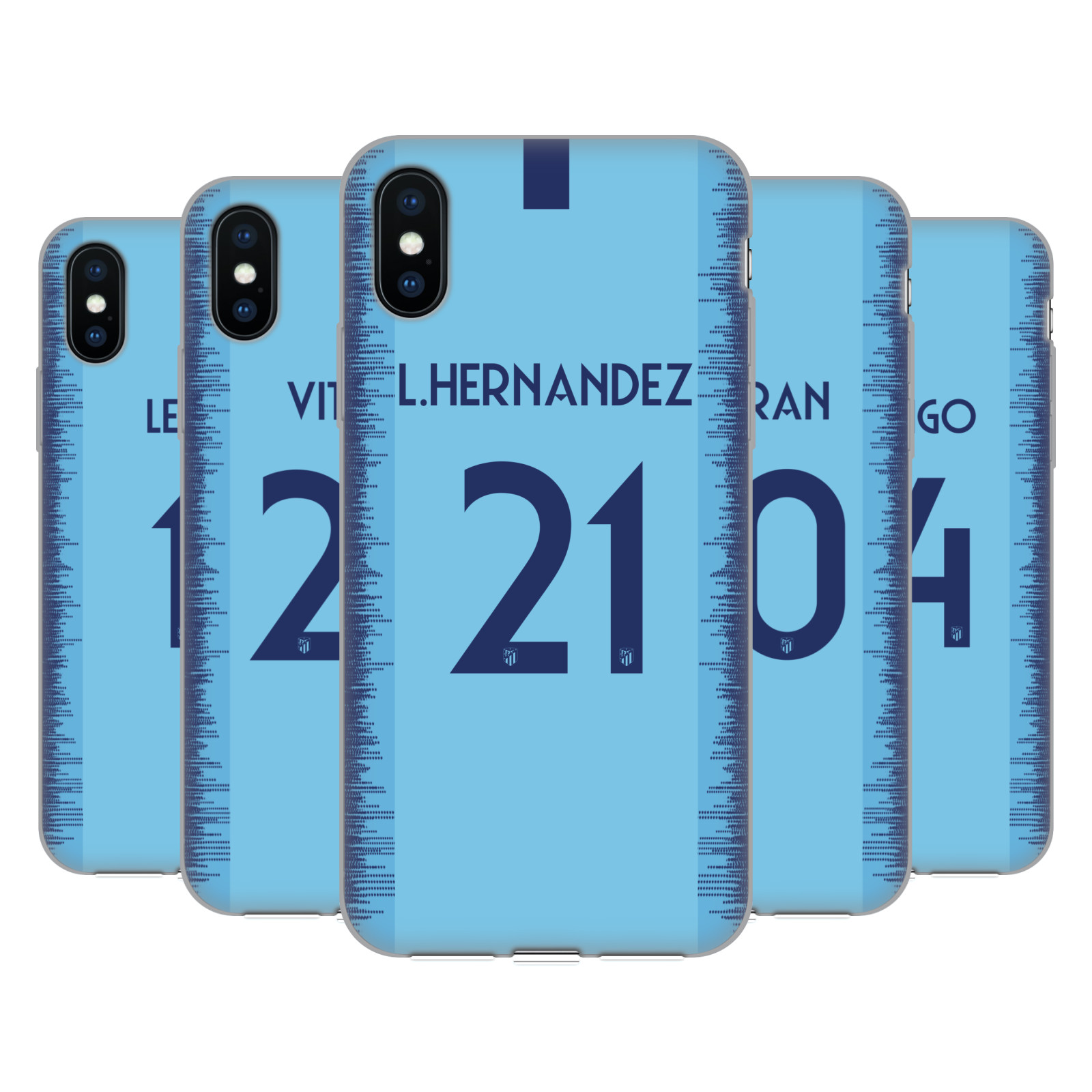 Atletico Madrid 2018/19 Players Away Kit Group 2