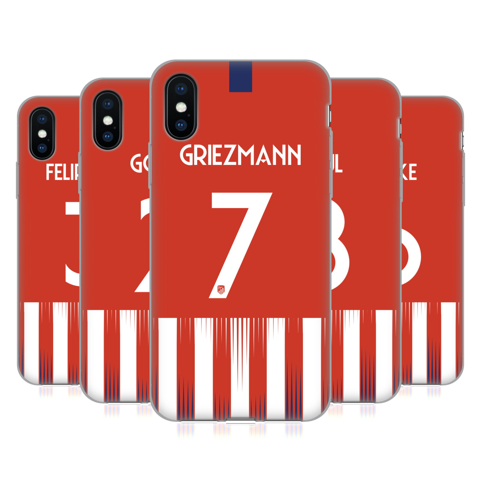 Atletico Madrid 2018/19 Players Home Kit Group 1