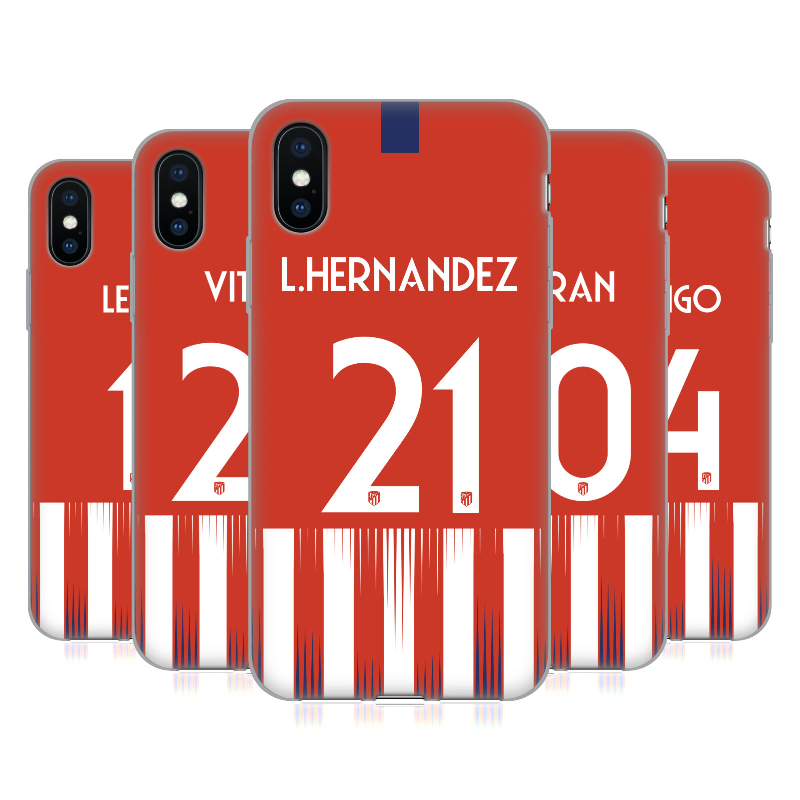 Atletico Madrid 2018/19 Players Home Kit Group 2