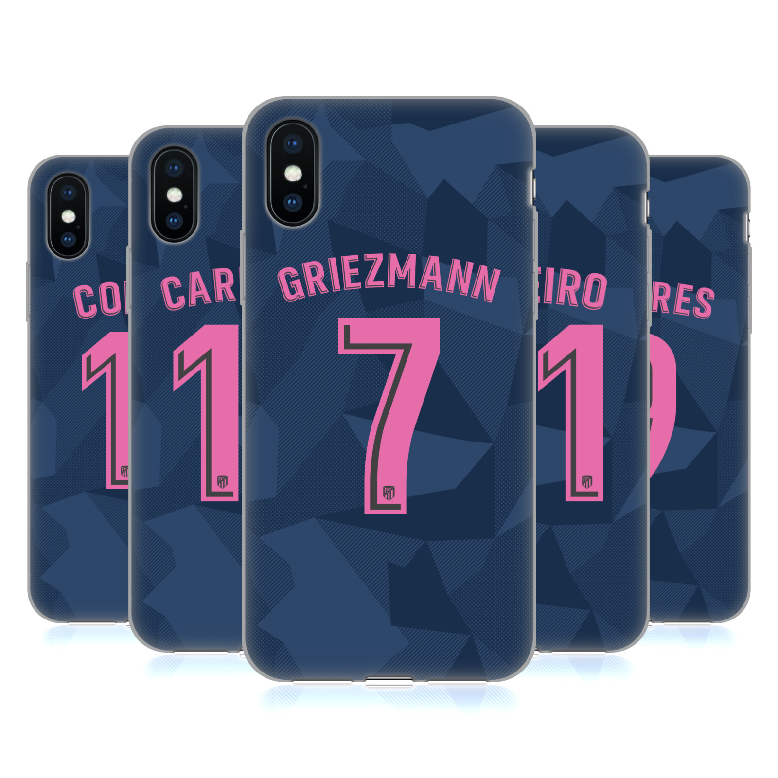 Atletico Madrid 2017/18 Players Third Kit Group 1