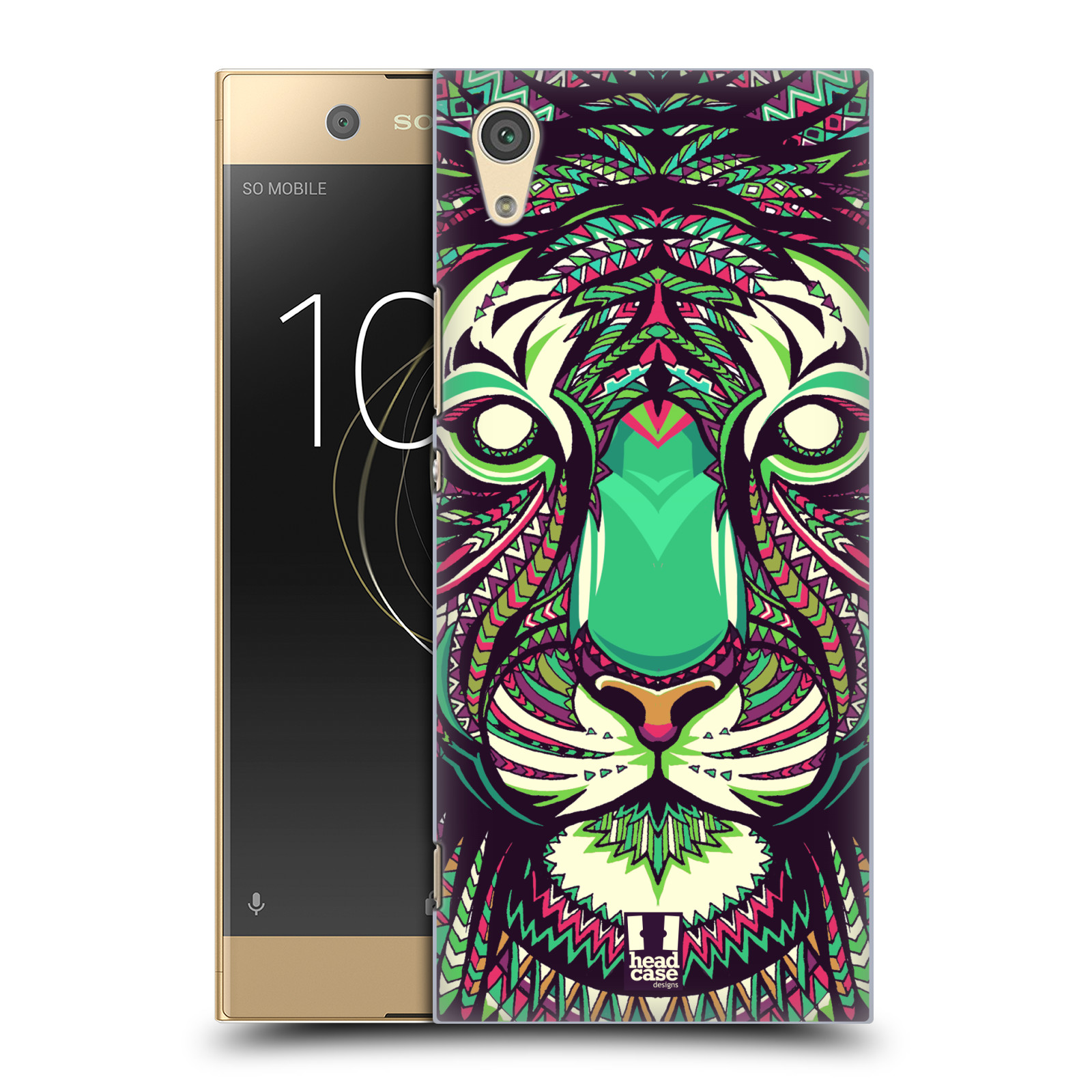 HEAD-CASE-DESIGNS-AZTEC-ANIMAL-FACES-2-HARD-BACK-CASE-FOR-SONY-PHONES-1