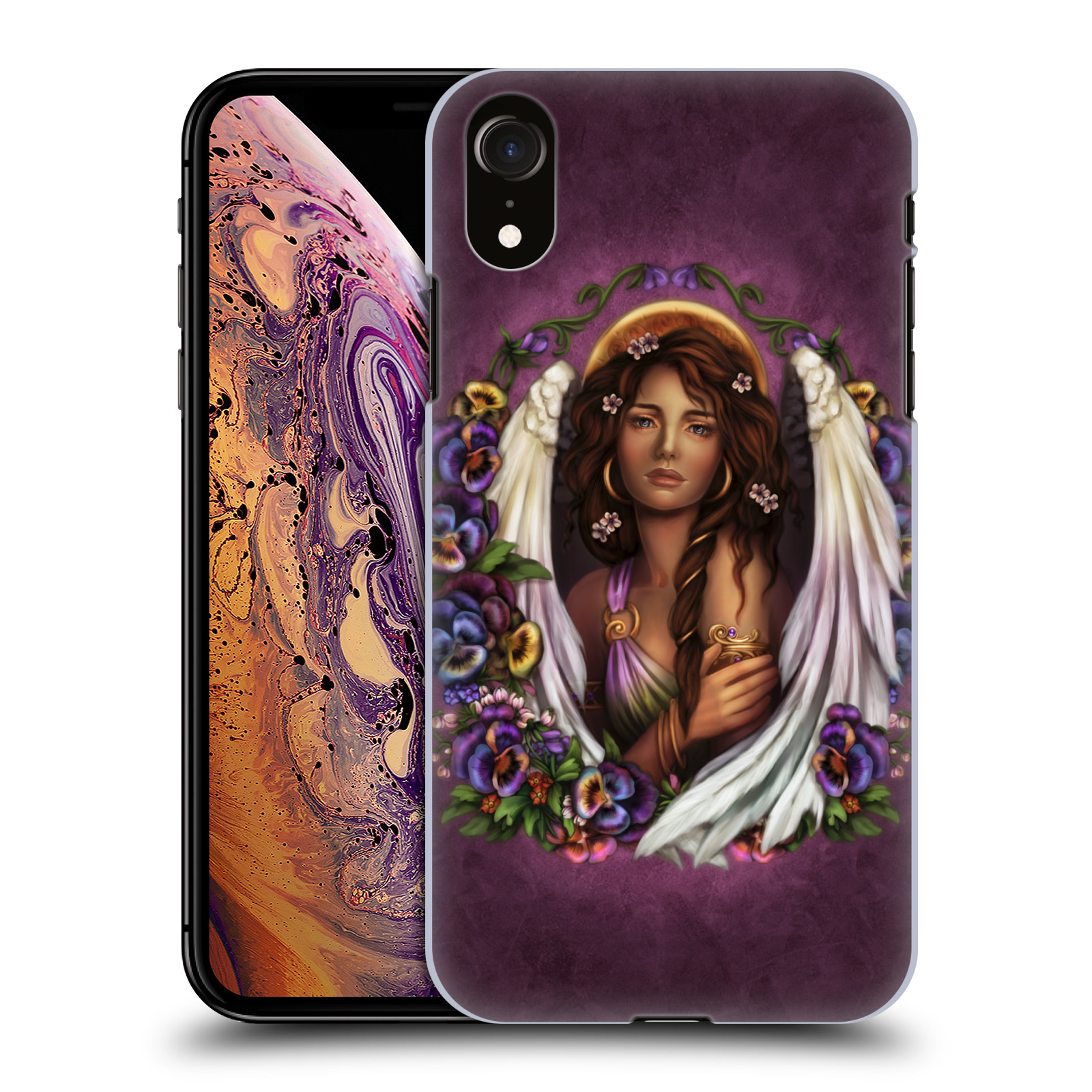 Official Brigid Ashwood Angels Pansy Case for Apple iPhone XR