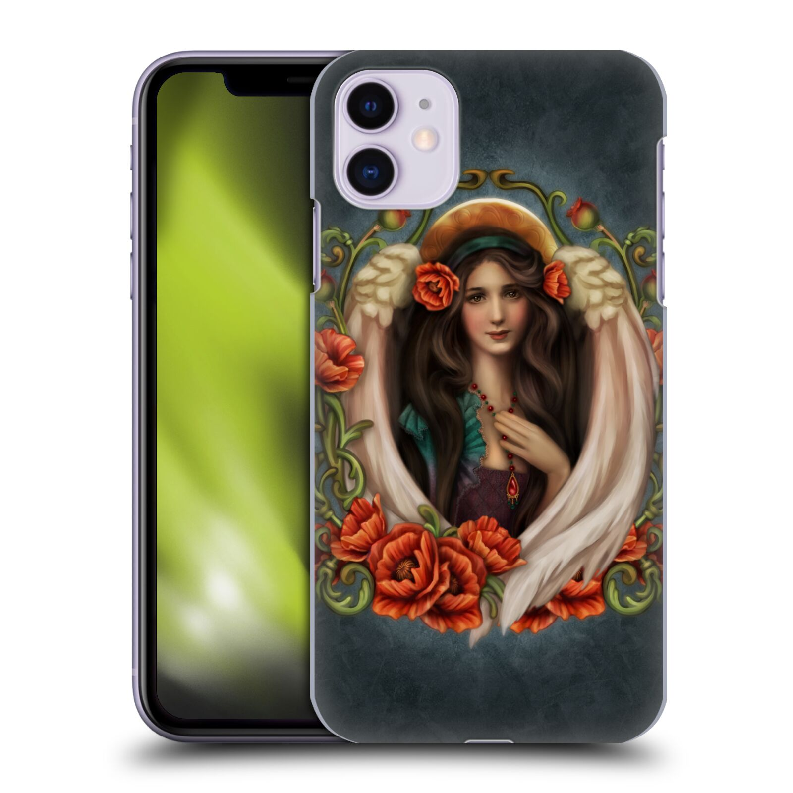 Official Brigid Ashwood Angels Poppy Back Case for Apple iPhone 11