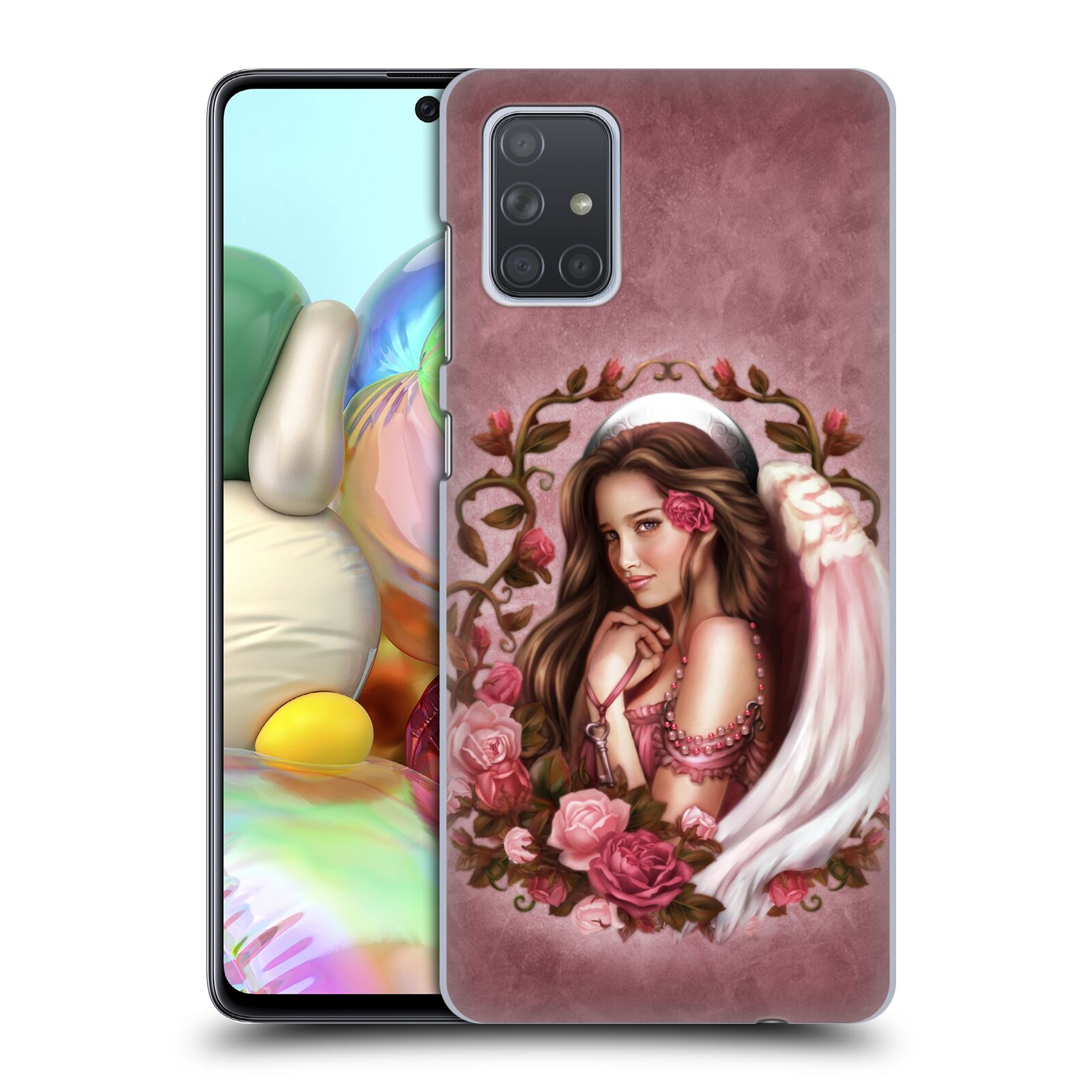 Official Brigid Ashwood Angels Rose Case for Samsung Galaxy A71 (2019)