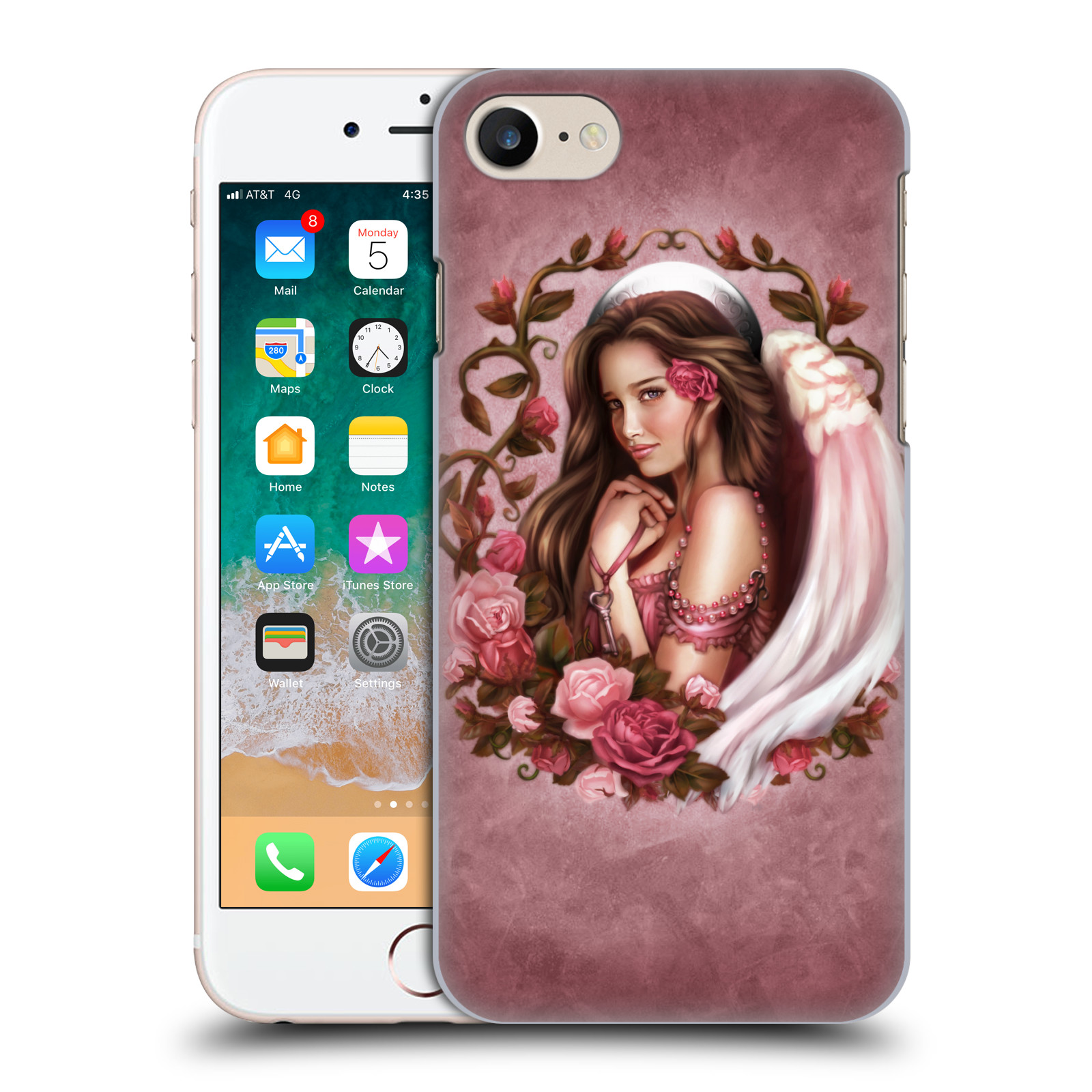 Official Brigid Ashwood Angels Rose Case for Apple iPhone 7 / 8 / iPhone SE 2020