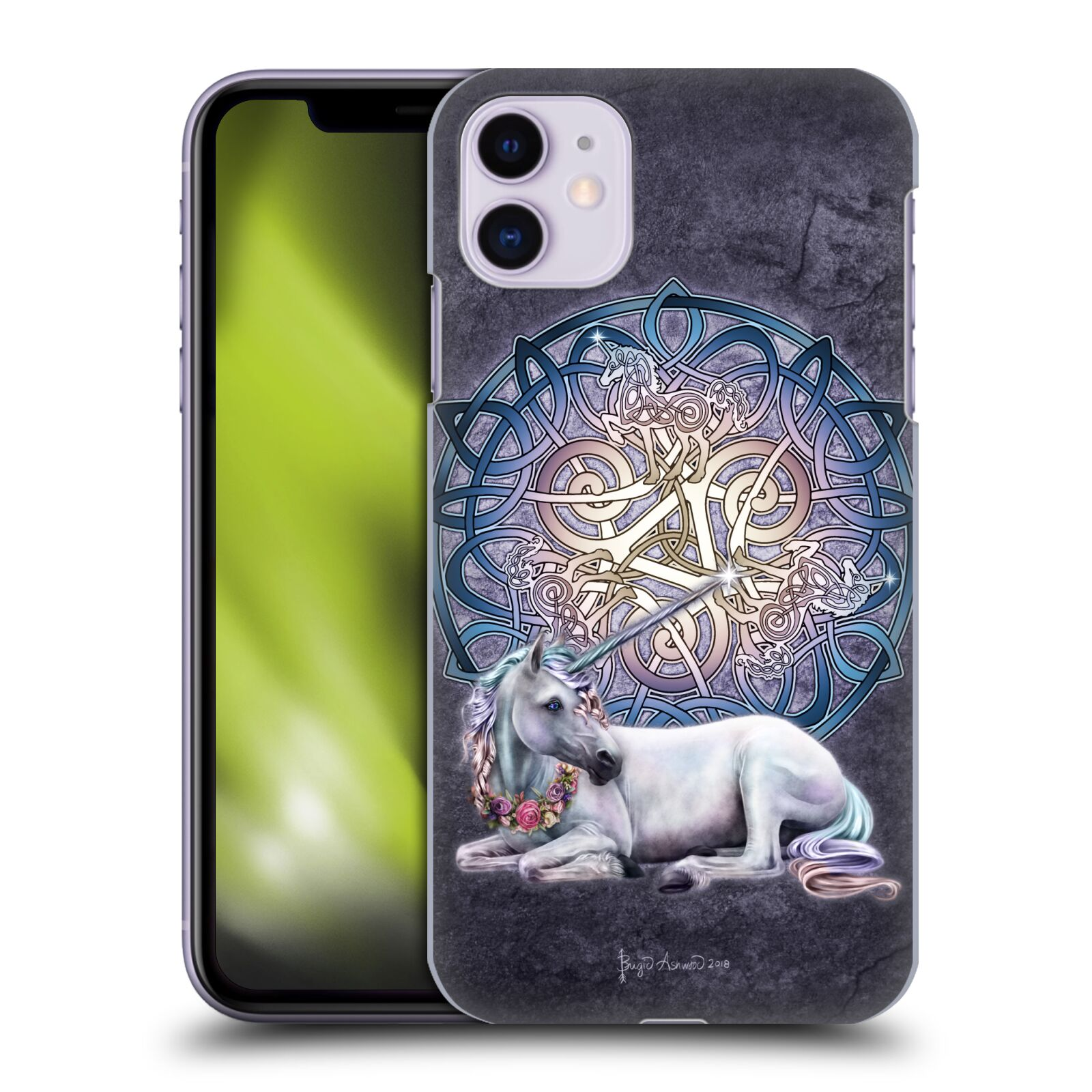 Official Brigid Ashwood Celtic Unicorn Back Case for Apple iPhone 11