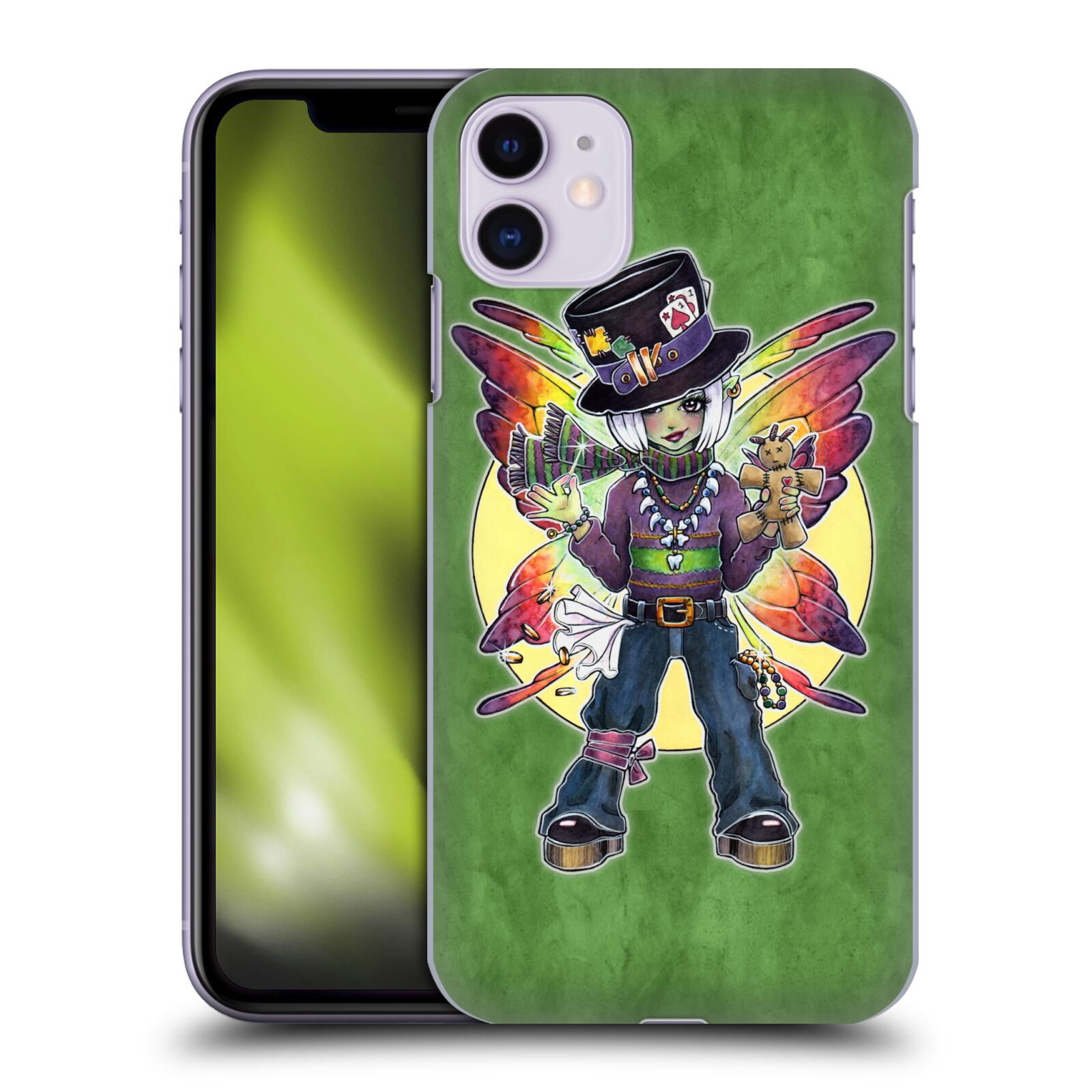 Official Brigid Ashwood Fairies 2 Mardi Gras Case for Apple iPhone 11