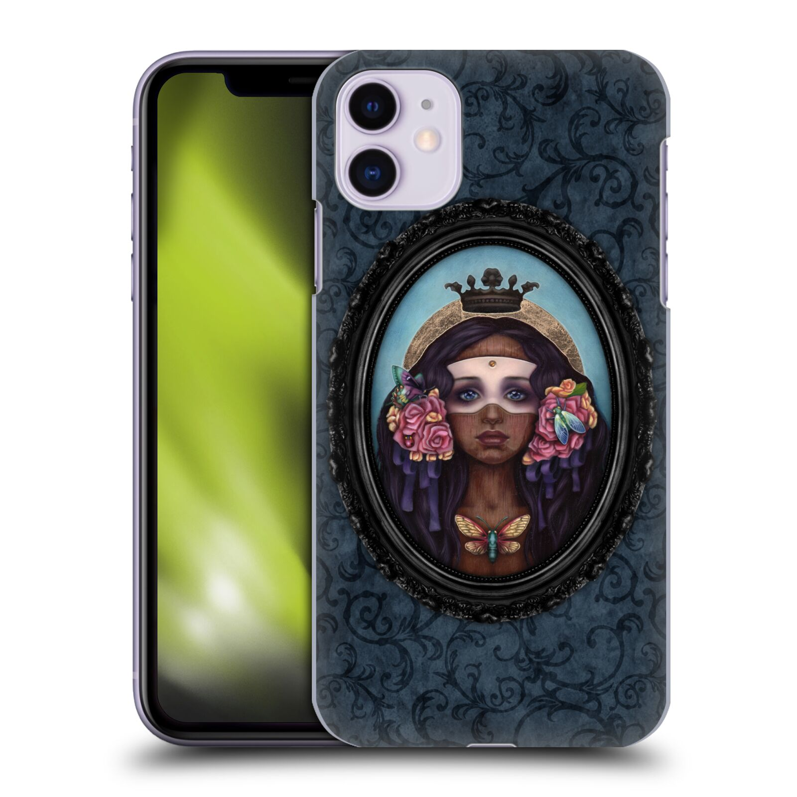 Official Brigid Ashwood Fantasy The Locust Queen Case for Apple iPhone 11