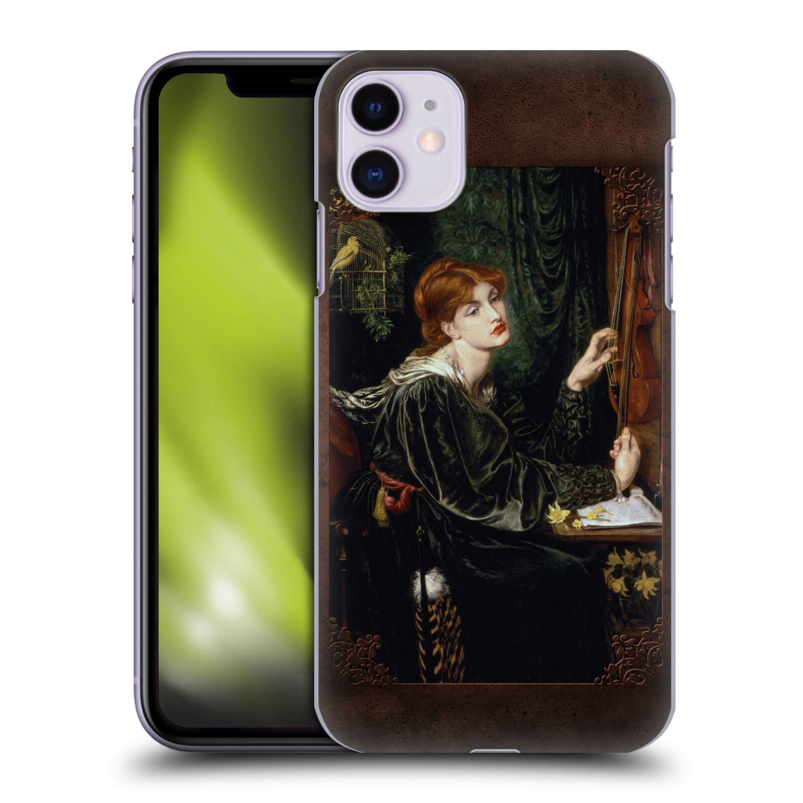Official Brigid Ashwood Pre-Raphaelite Rossetti 4 Back Case for Apple iPhone 11