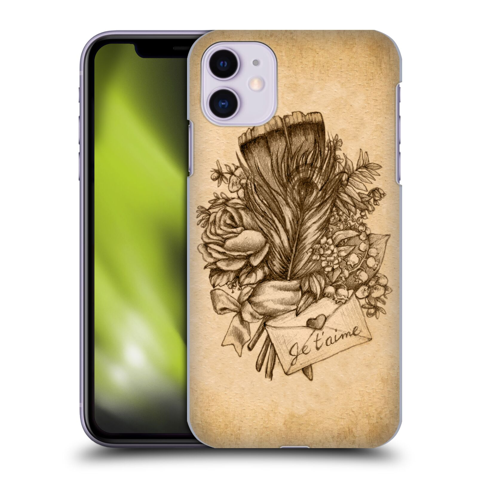 Official Brigid Ashwood Vintage Romance Love Bouquet Case for Apple iPhone 11