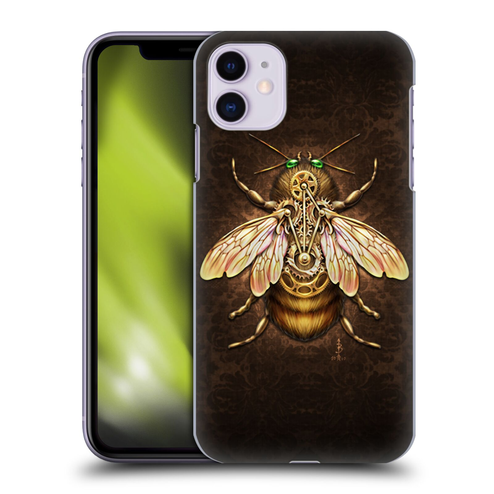 Official Brigid Ashwood Winged Things Steampunk Bee Back Case for Apple iPhone 11