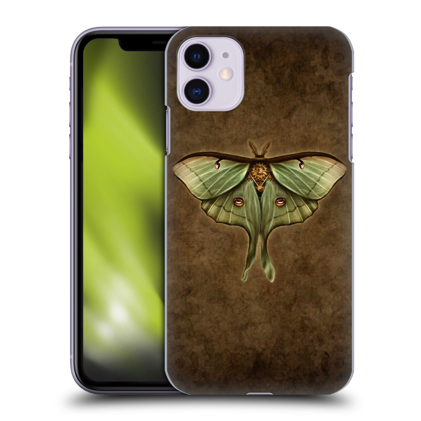 Official Brigid Ashwood Winged Things Steampunk Luna Moth Back Case for Apple iPhone 11