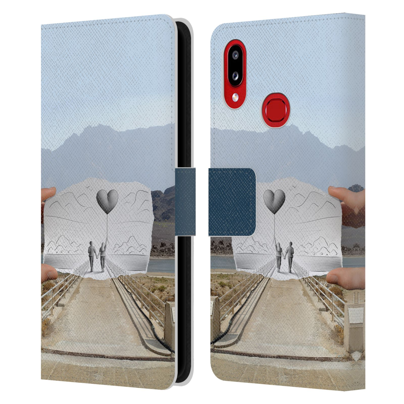 Official Ben Heine Pencil Vs Camera Love 2 Leather Book Wallet Case For Samsung Galaxy A10s (2019)