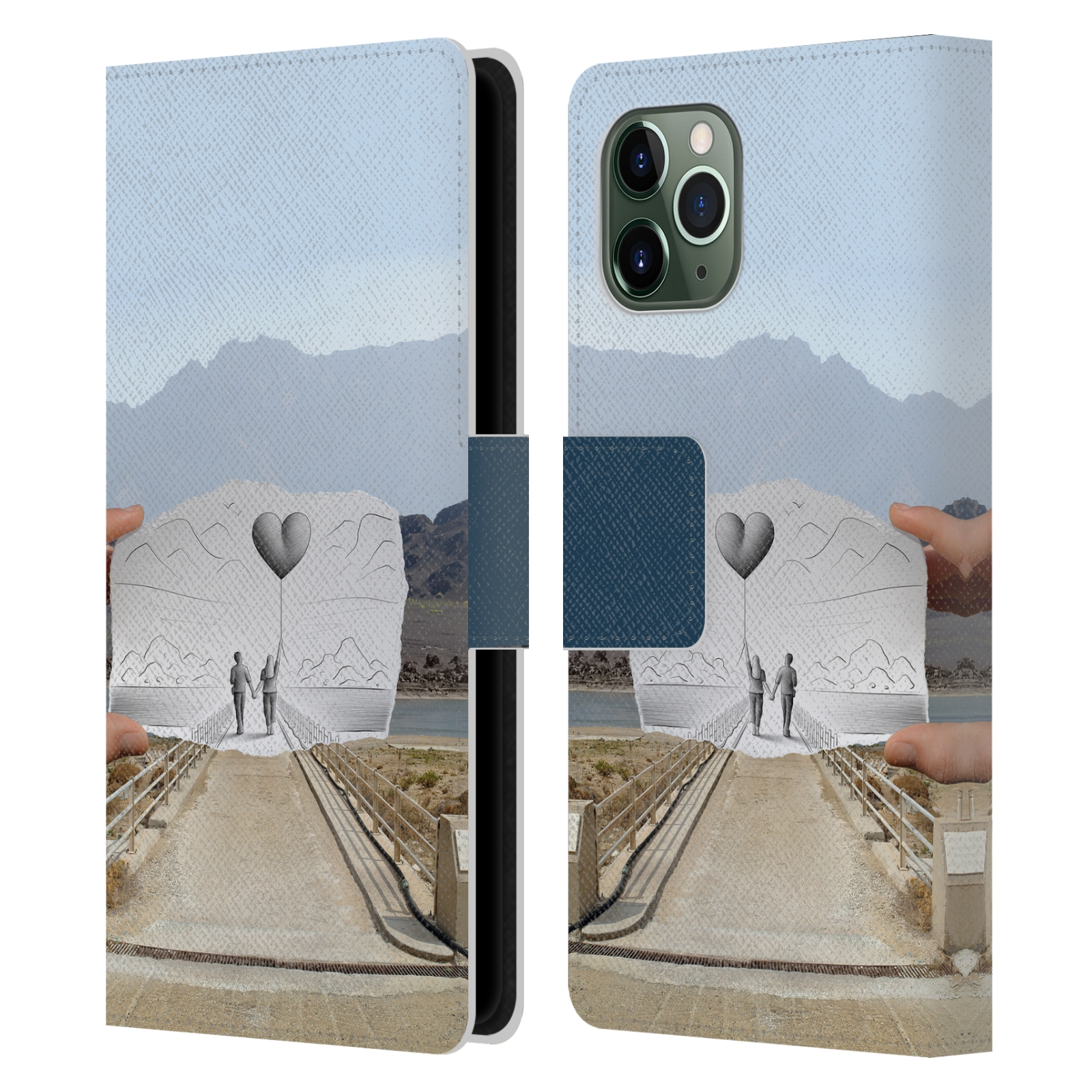 Official Ben Heine Pencil Vs Camera Love 2 Leather Book Wallet Case For Apple iPhone 11 Pro
