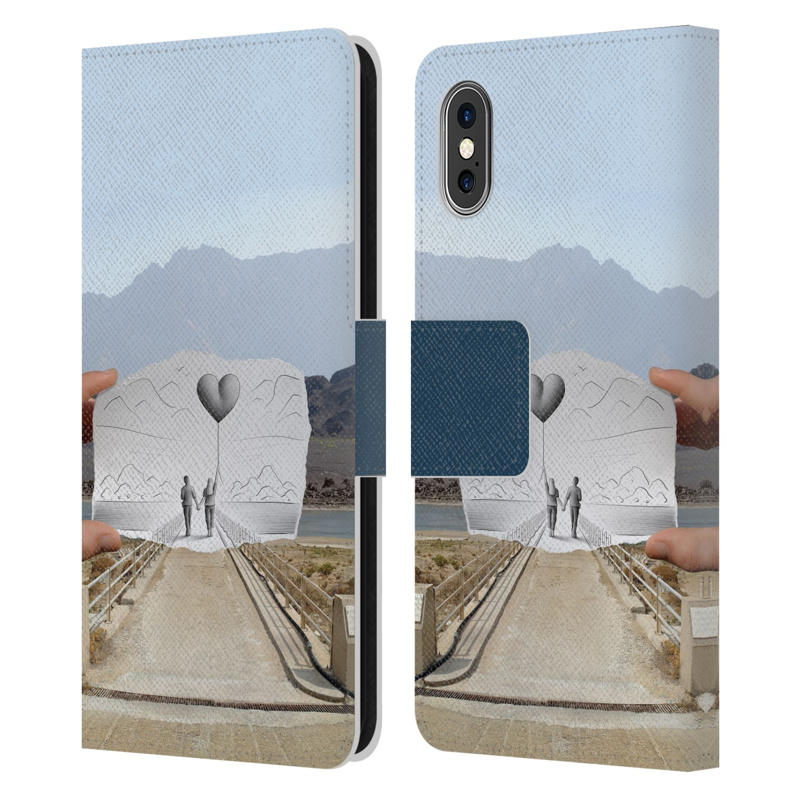 Official Ben Heine Pencil Vs Camera Love 2 Leather Book Wallet Case For Apple iPhone X / iPhone XS