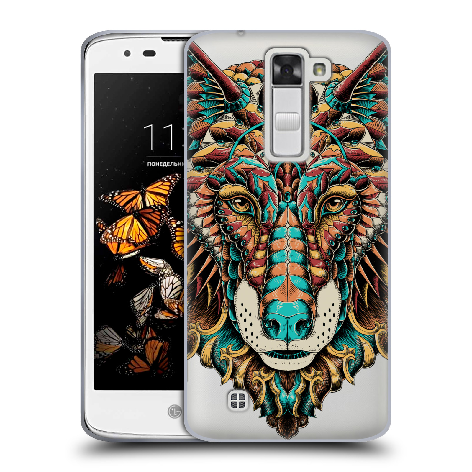 OFFICIAL-BIOWORKZ-COLOURED-ANIMAL-HEAD-2-SOFT-GEL-CASE-FOR-LG-PHONES-2