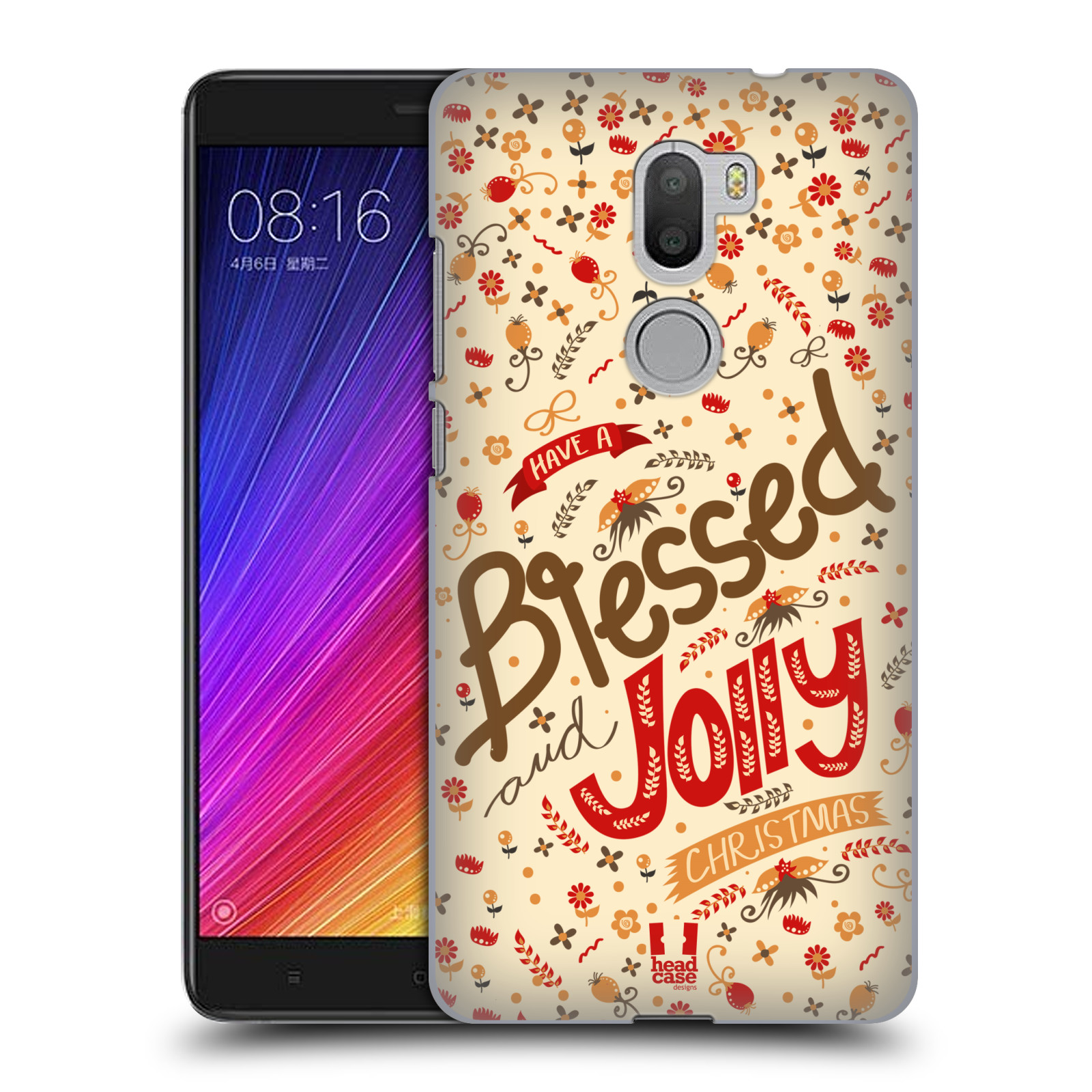 HEAD-CASE-DESIGNS-BLESSED-CHRISTMAS-HARD-BACK-CASE-FOR-XIAOMI-Mi-5s-PLUS