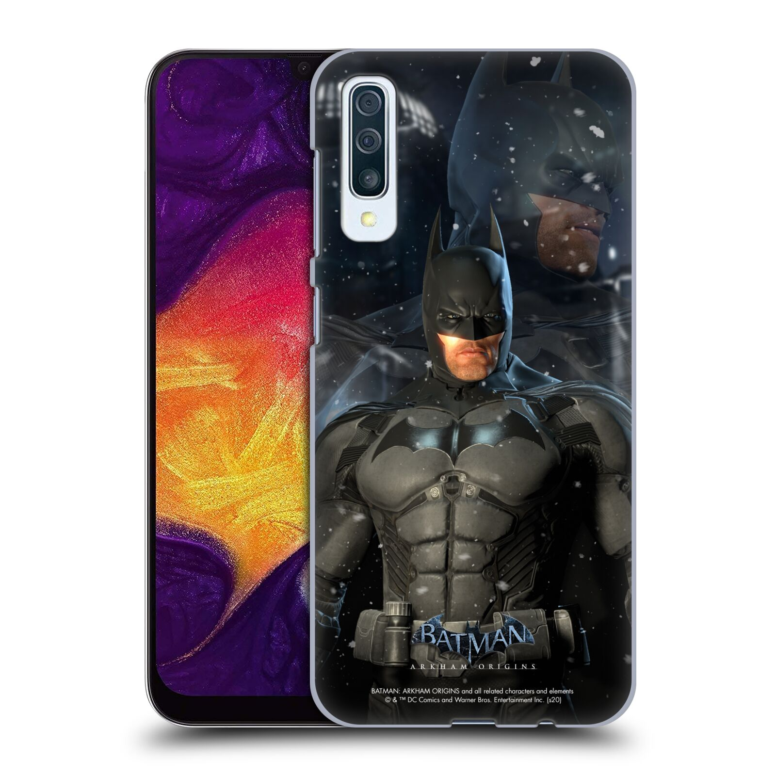 Official Batman: Arkham Origins Characters Batman Case for Samsung Galaxy A50s (2019)