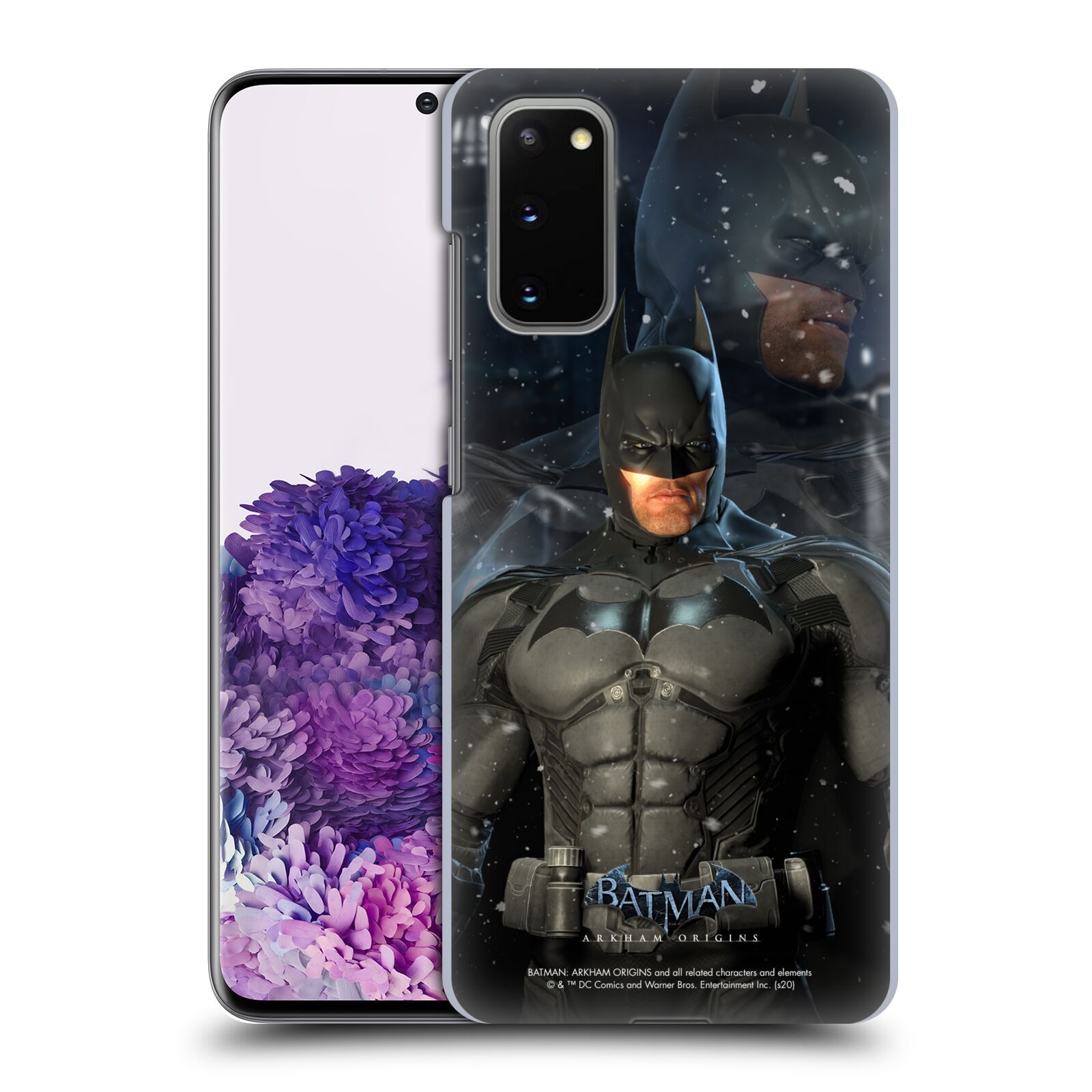 Official Batman: Arkham Origins Characters Batman Case for Samsung Galaxy S20 / S20 5G