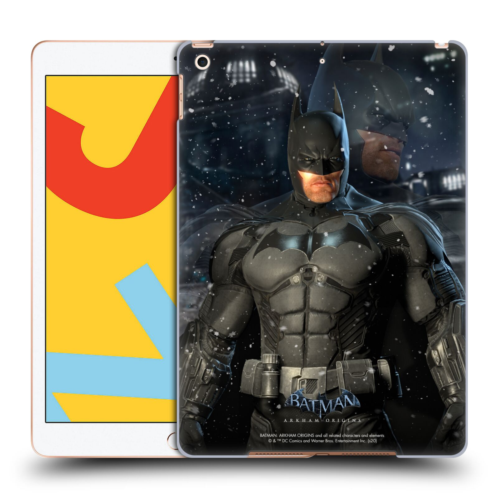 Official Batman: Arkham Origins Characters Batman Case for Apple iPad 10.2 (2019)