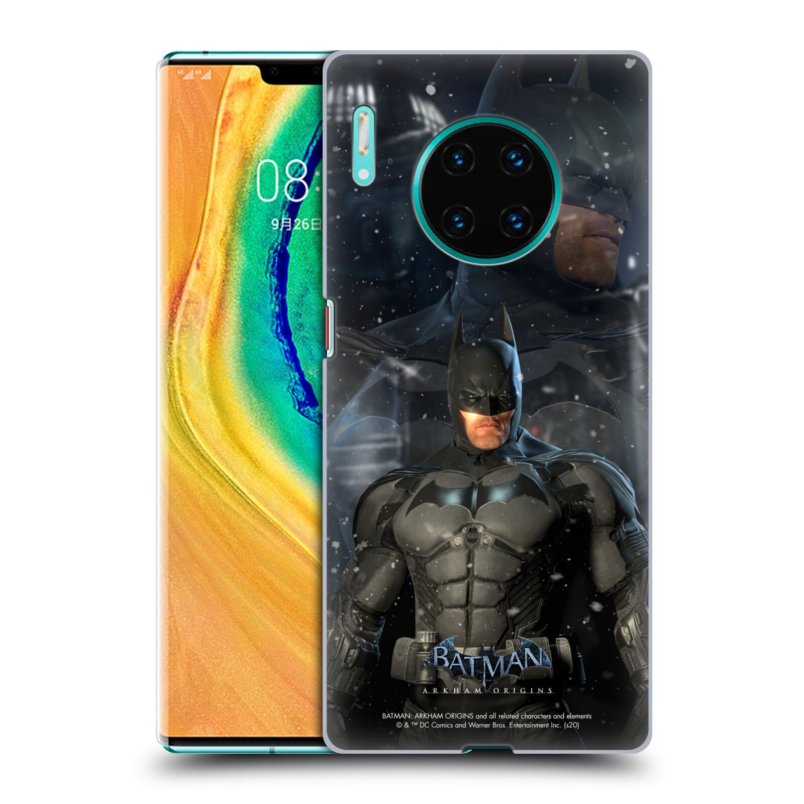 Official Batman: Arkham Origins Characters Batman Case for Huawei Mate 30 Pro / 5G