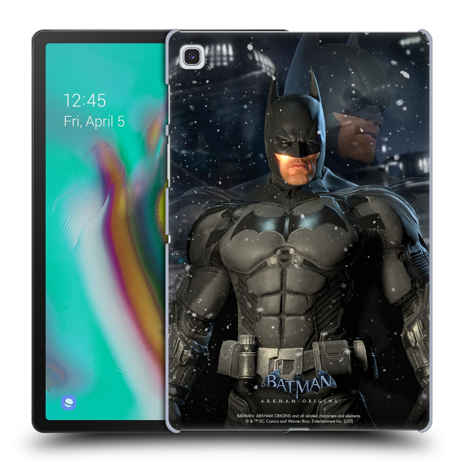 Official Batman: Arkham Origins Characters Batman Case for Samsung Galaxy Tab S5e