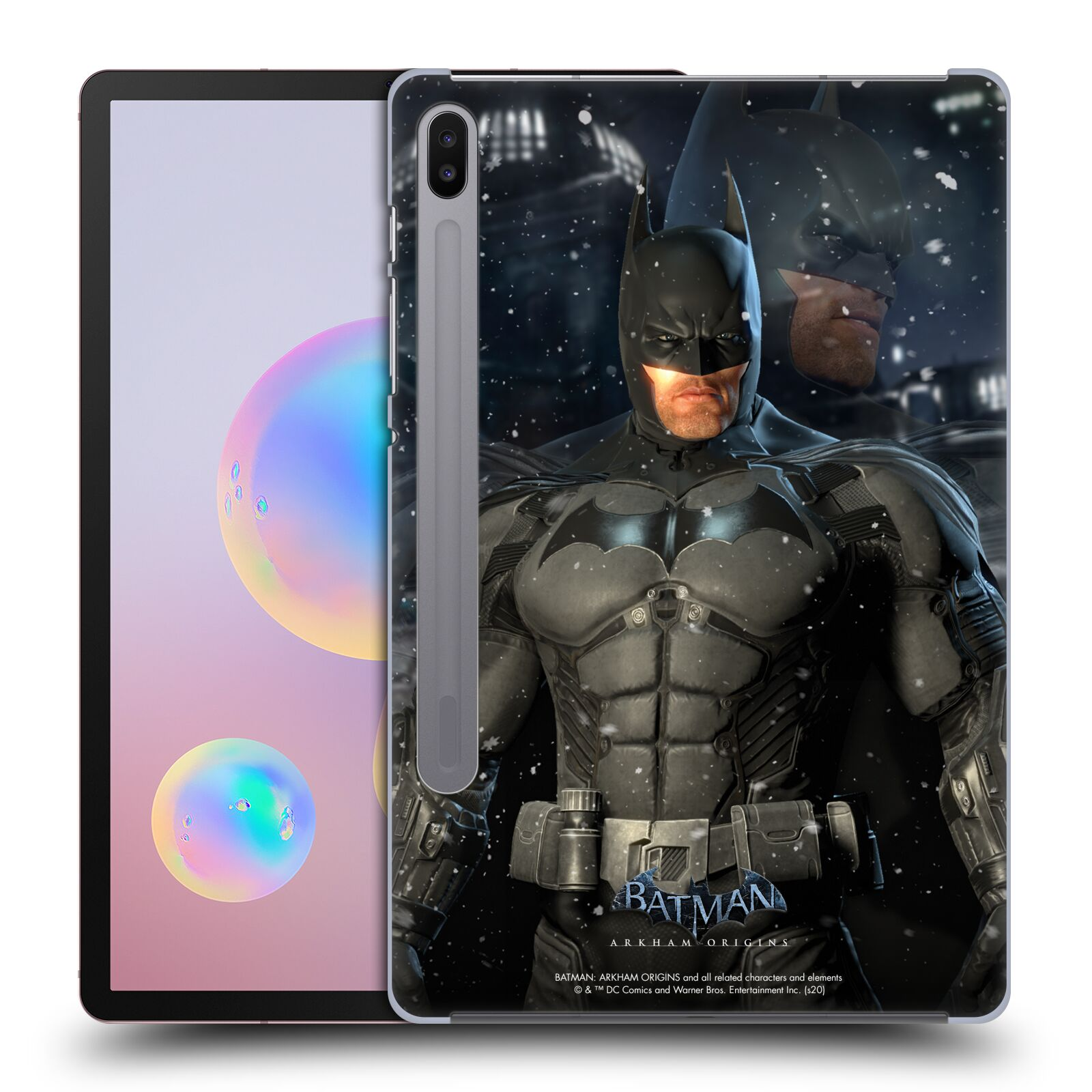 Official Batman: Arkham Origins Characters Batman Case for Samsung Galaxy Tab S6 (2019)
