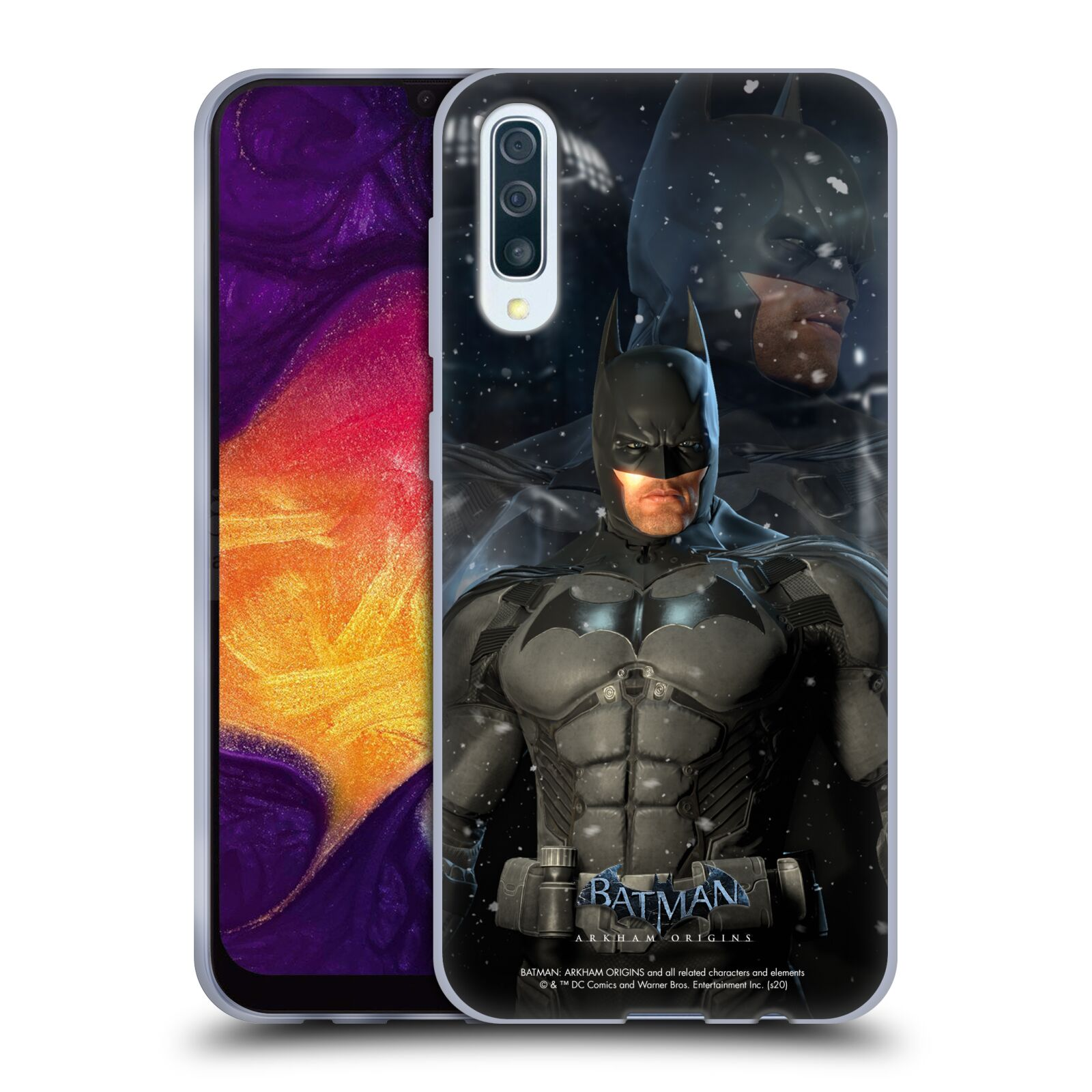 Official Batman: Arkham Origins Characters Batman Gel Case for Samsung Galaxy A50/A30s (2019)