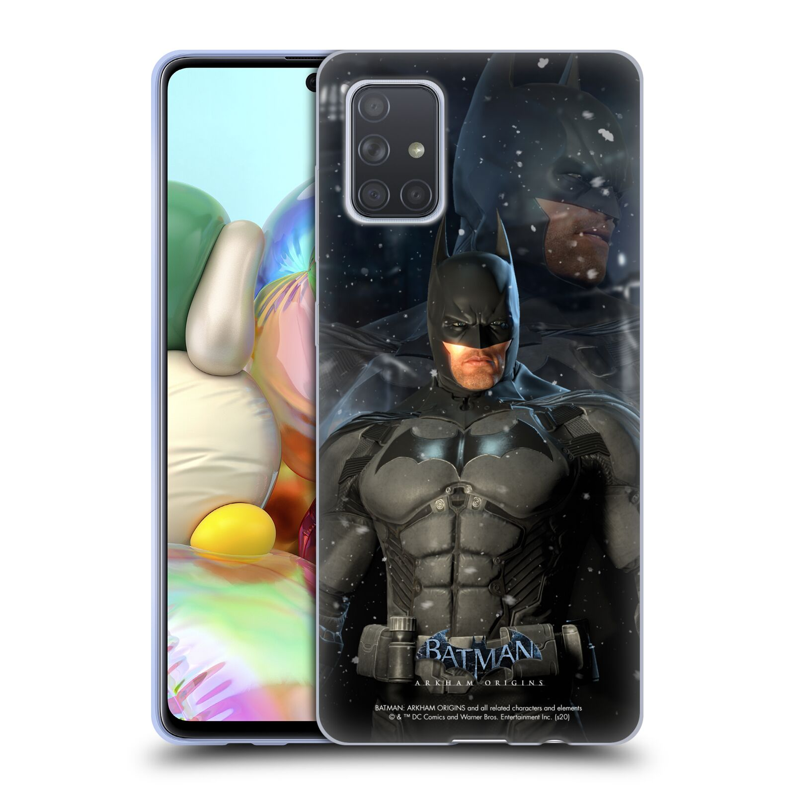 Official Batman: Arkham Origins Characters Batman Gel Case for Samsung Galaxy A71 (2019)