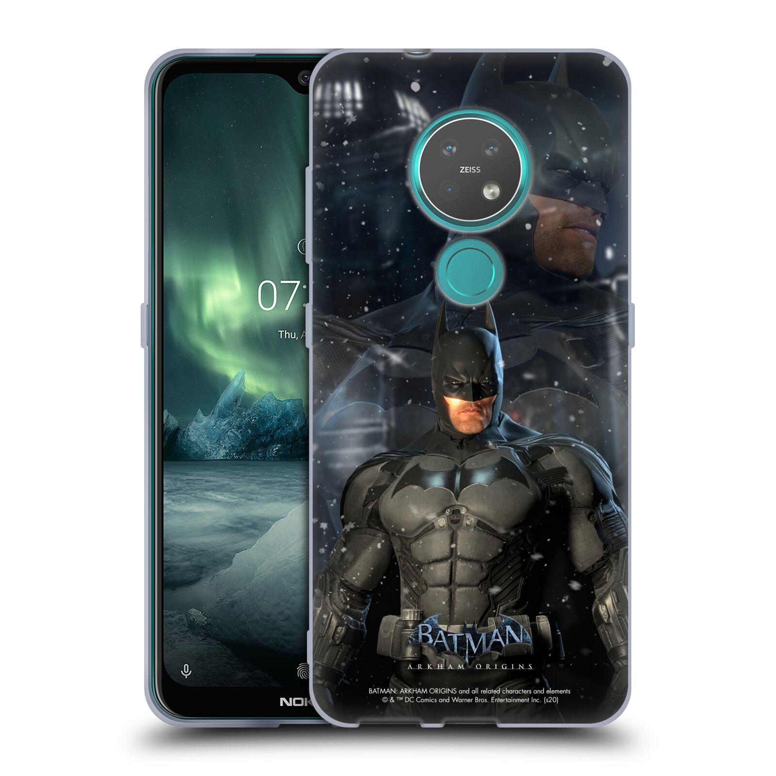 Official Batman: Arkham Origins Characters Batman Gel Case for Nokia 7.2
