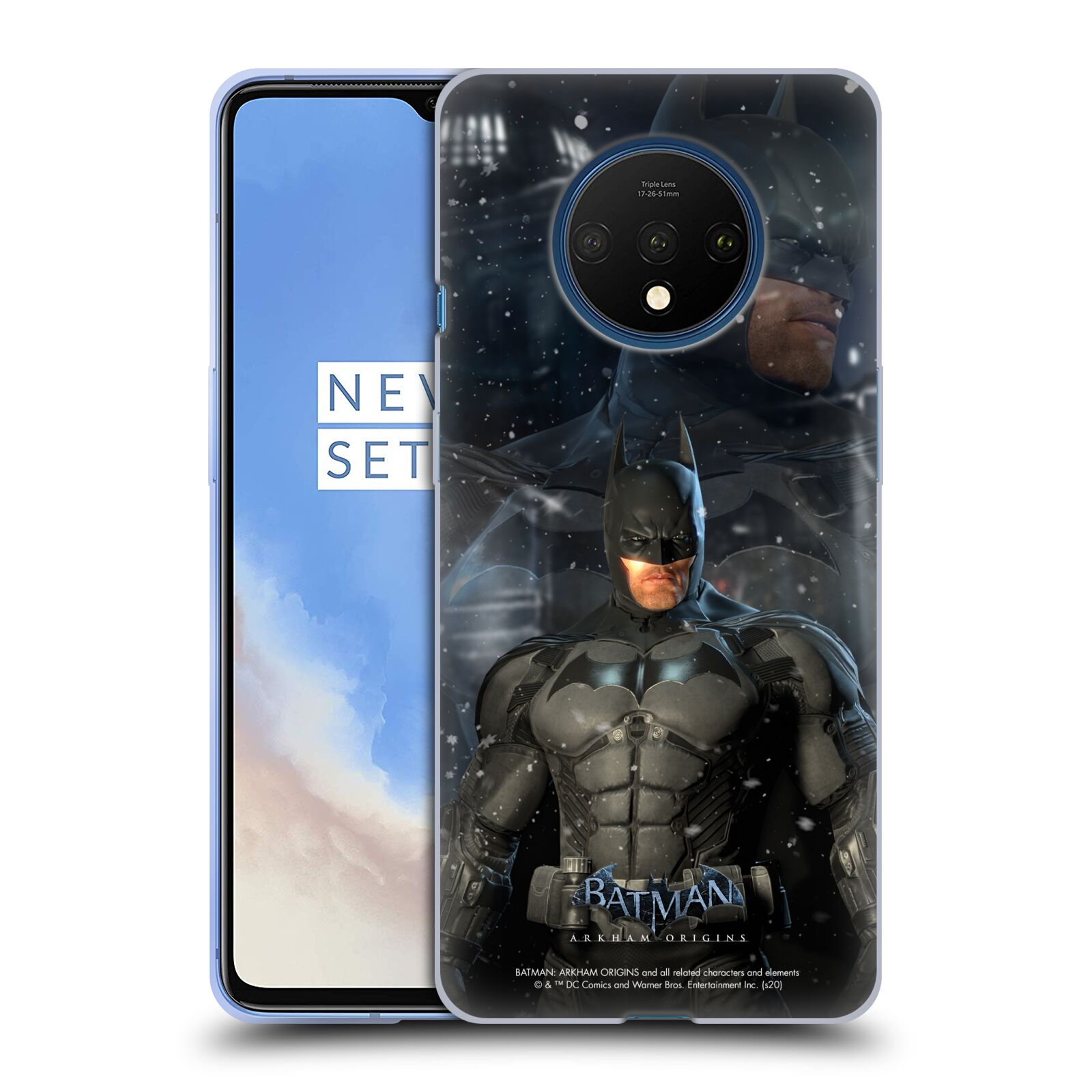 Official Batman: Arkham Origins Characters Batman Gel Case for OnePlus 7T
