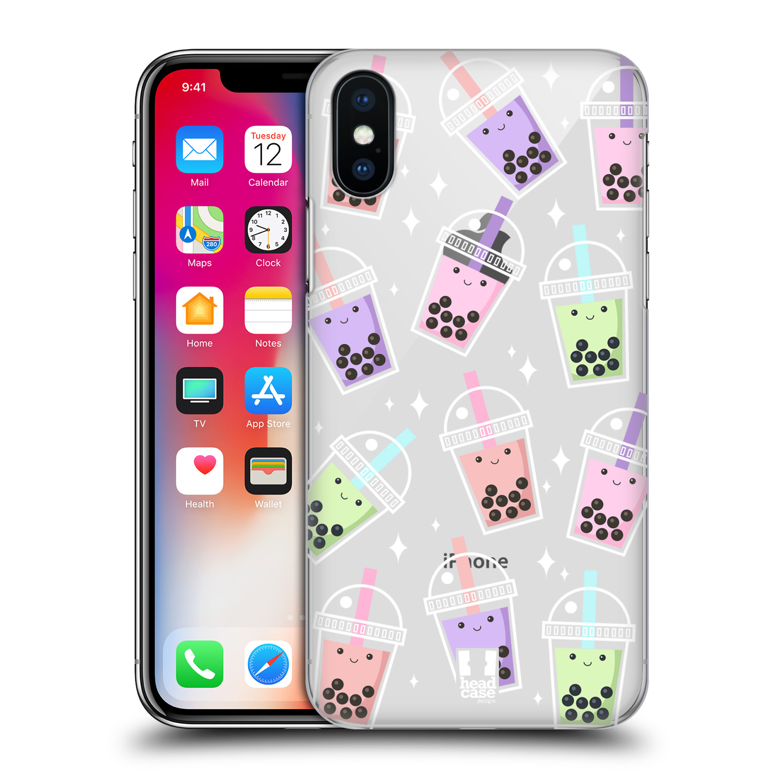 HEAD-CASE-DESIGNS-BUBBLE-TEA-HARD-BACK-CASE-FOR-APPLE-iPHONE-PHONES