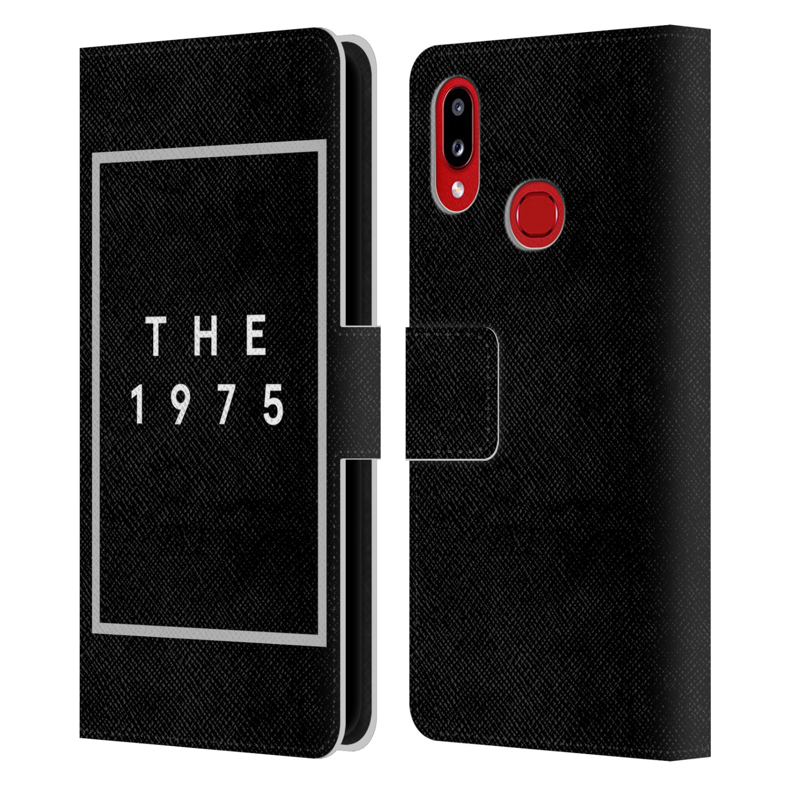 Official The 1975 Key Art Logo Black Leather Book Wallet Case For Samsung Galaxy A10s (2019)