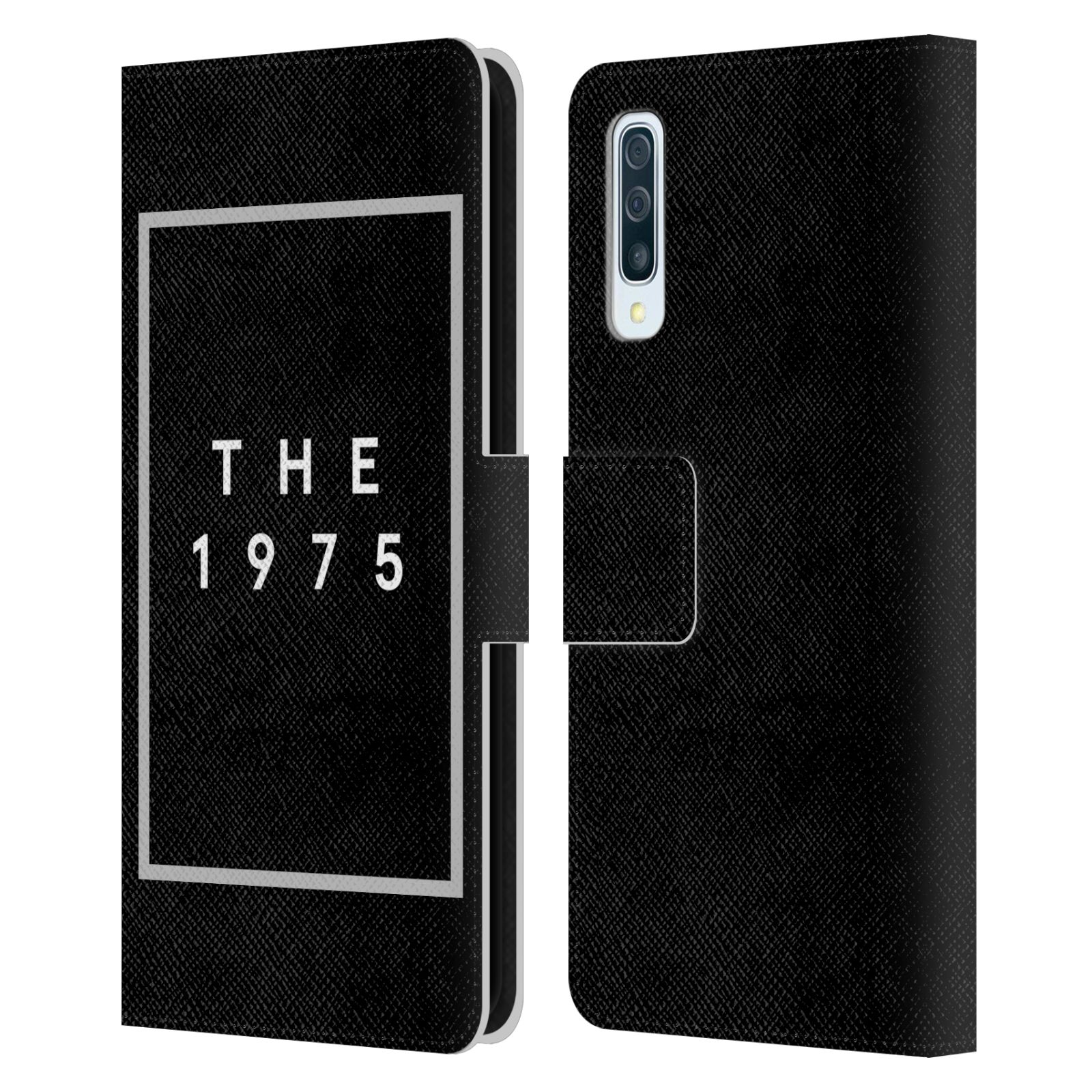 Official The 1975 Key Art Logo Black Leather Book Wallet Case For Samsung Galaxy A50/A30s (2019)
