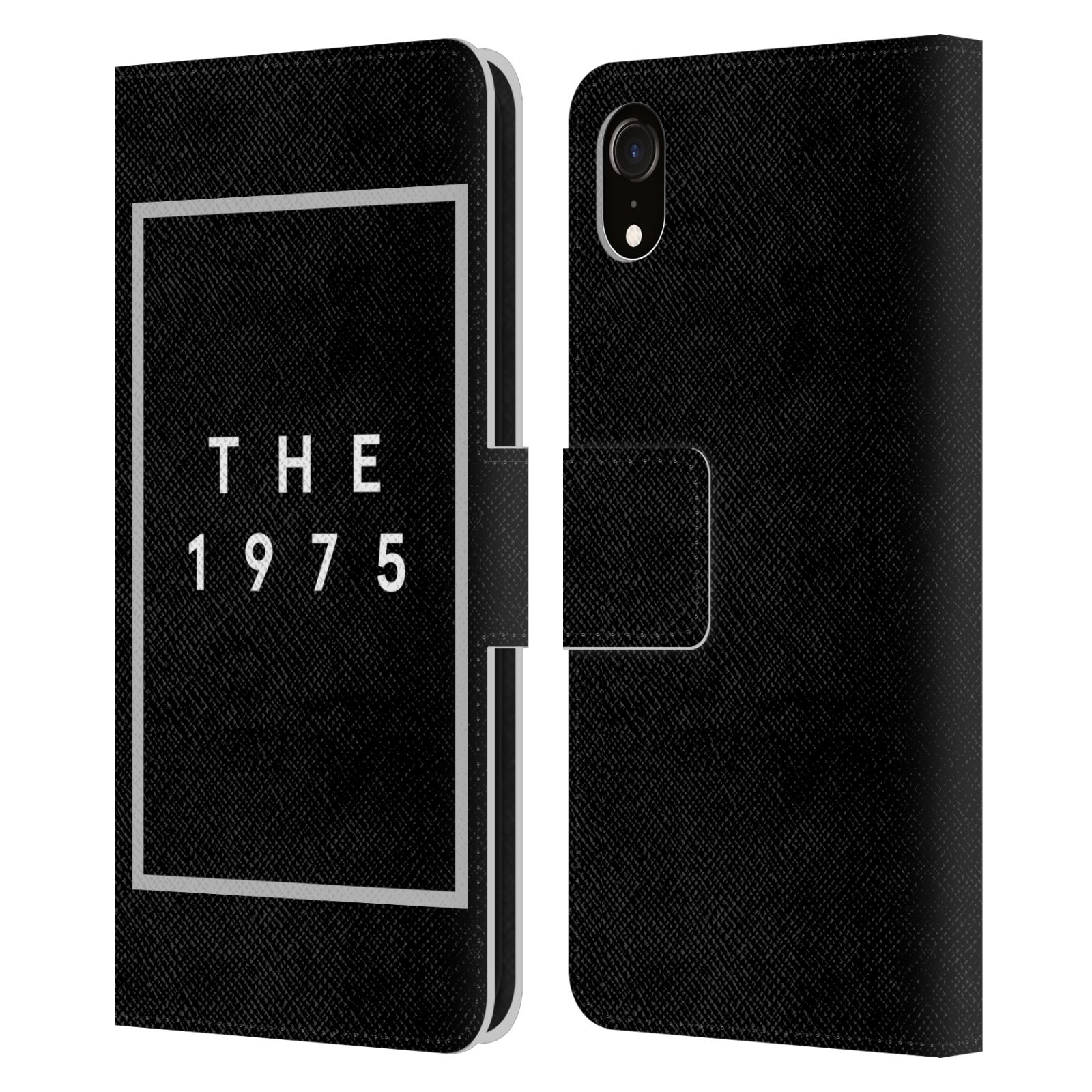 Official The 1975 Key Art Logo Black Leather Book Wallet Case For Apple iPhone XR