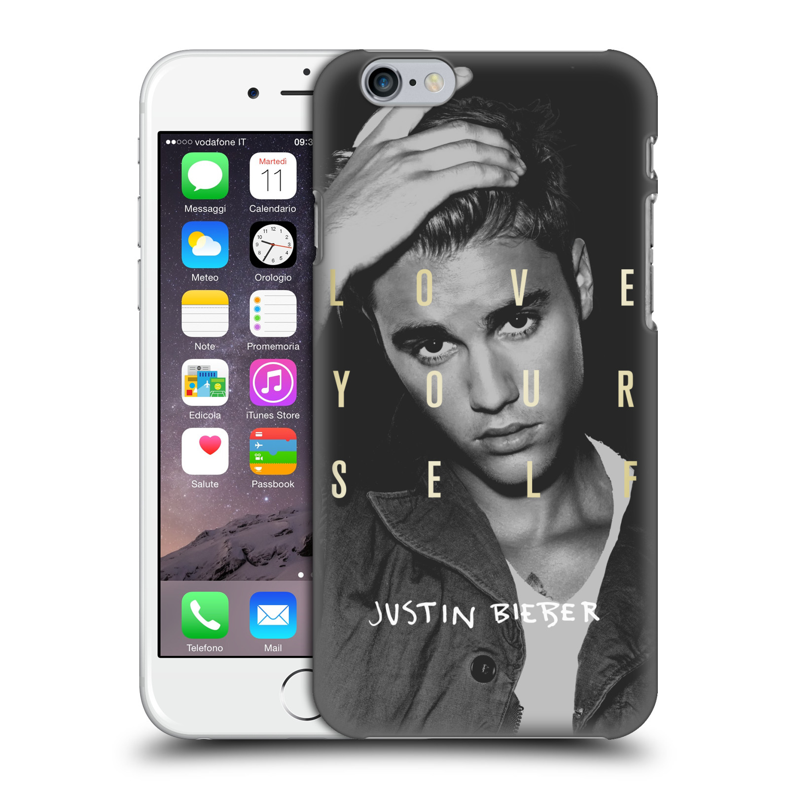 OFFICIAL-JUSTIN-BIEBER-BLACK-AND-WHITE-HARD-BACK-CASE-FOR-APPLE-iPHONE-PHONES