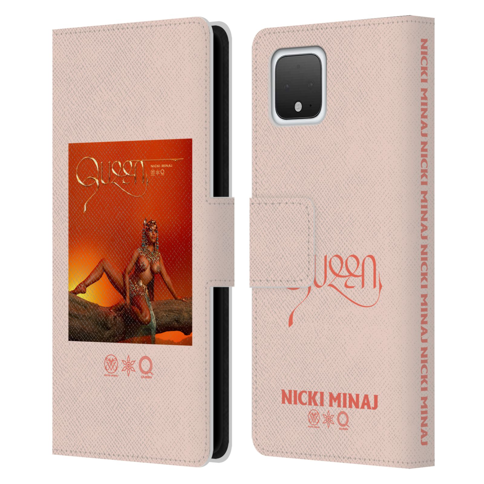 Official Nicki Minaj Album Queen Leather Book Wallet Case For Google Pixel 4