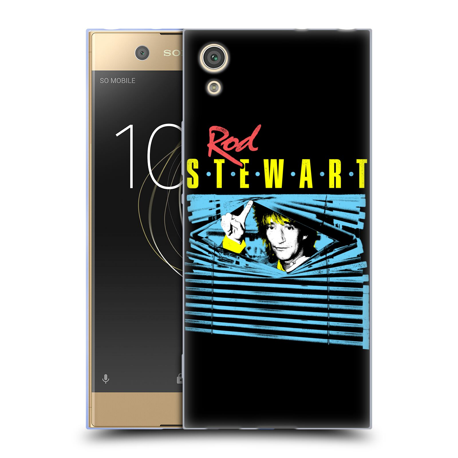 UFFICIALE-ROD-STEWART-ART-Soft-Gel-Custodia-per-Telefoni-Sony-1