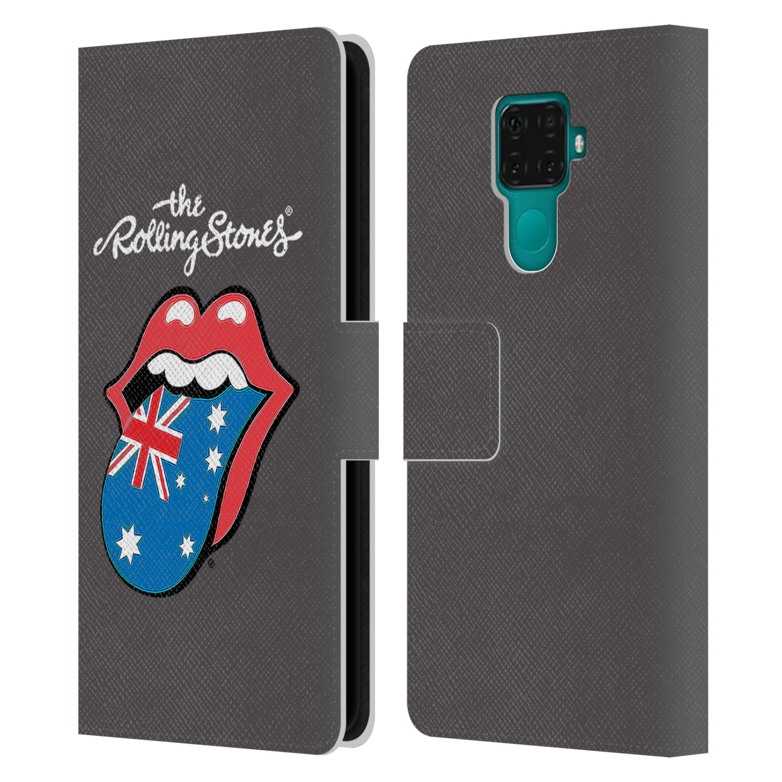 Official The Rolling Stones International Licks 1 Australia Leather Book Wallet Case For Huawei Nova 5i Pro/Mate 30 Lite