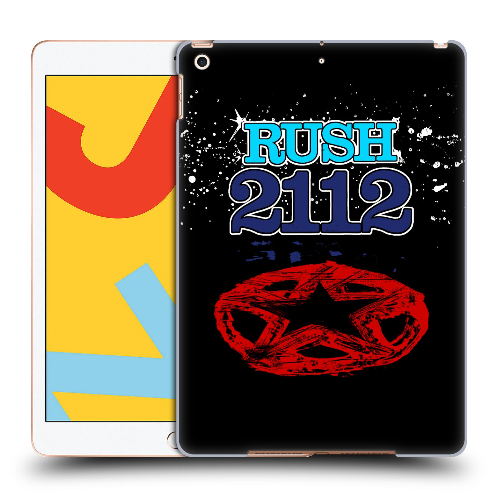 Official Rush Key Art 2112 Back Case for Apple iPad 10.2 (2019)