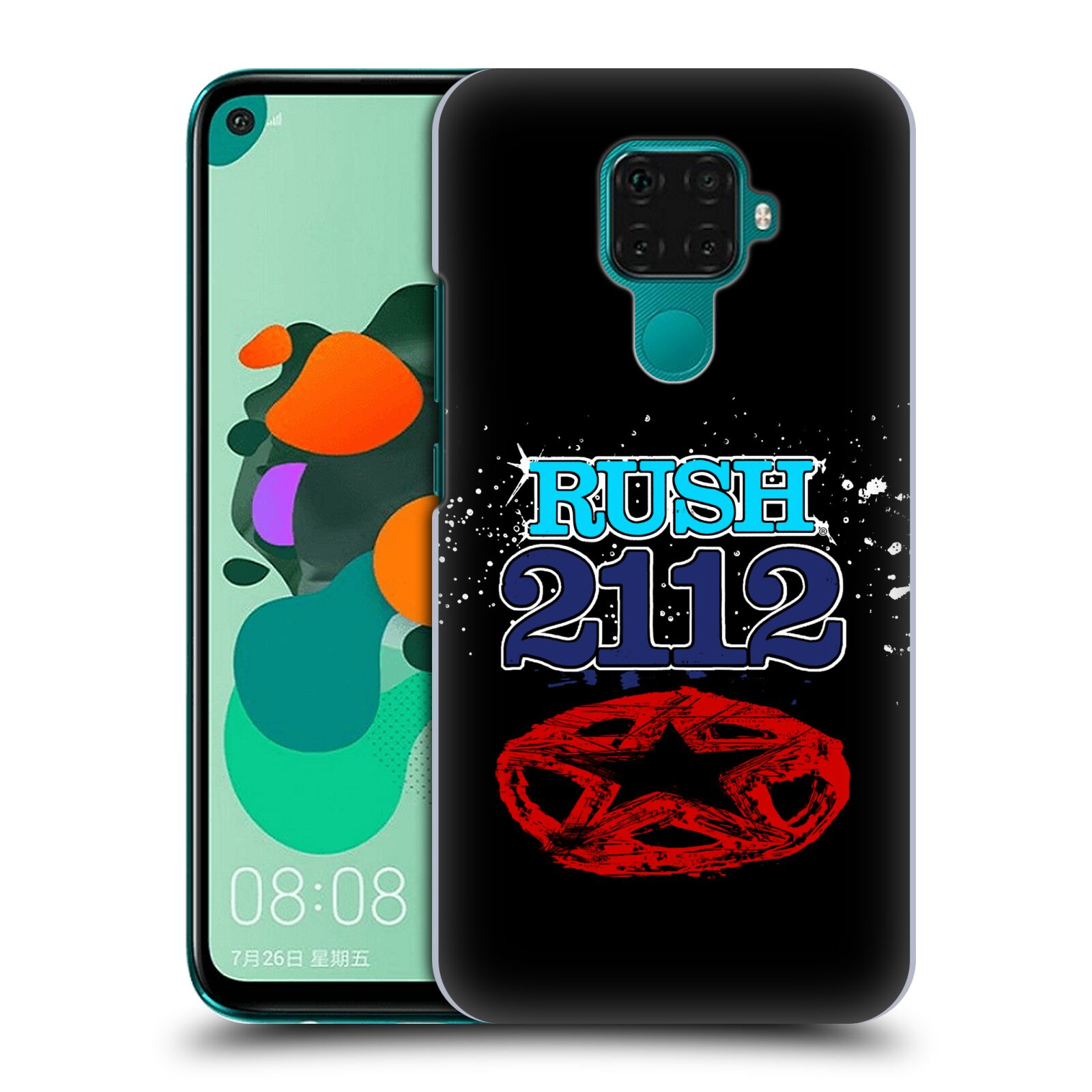Official Rush Key Art 2112 Back Case for Huawei Nova 5i Pro/Mate 30 Lite