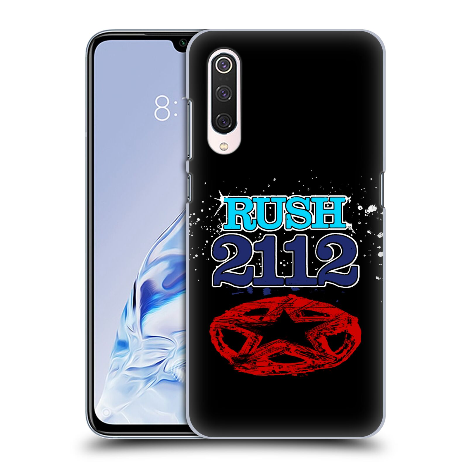 Official Rush Key Art 2112 Back Case for Xiaomi Mi 9 Pro / 5G