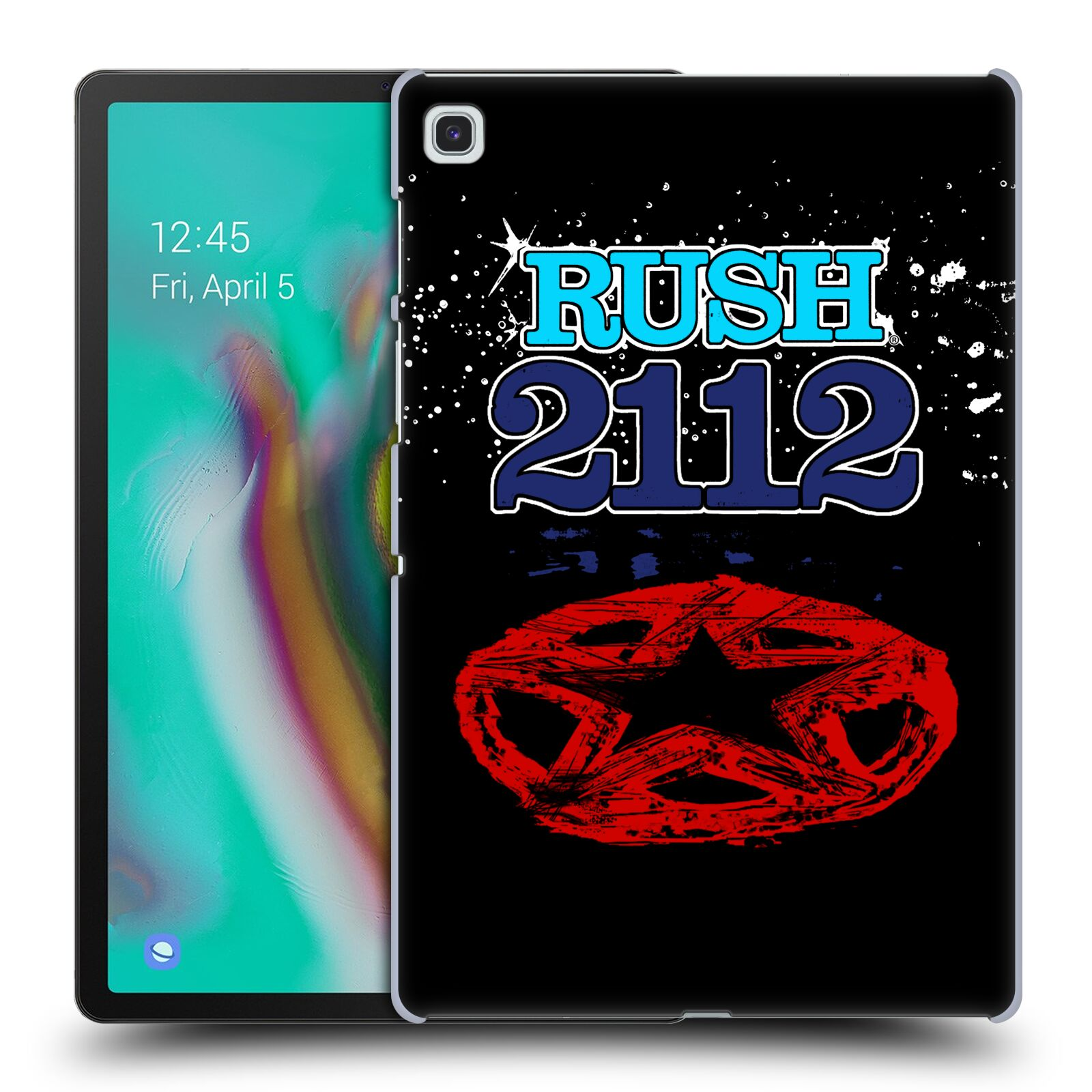 Official Rush Key Art 2112 Back Case for Samsung Galaxy Tab S5e