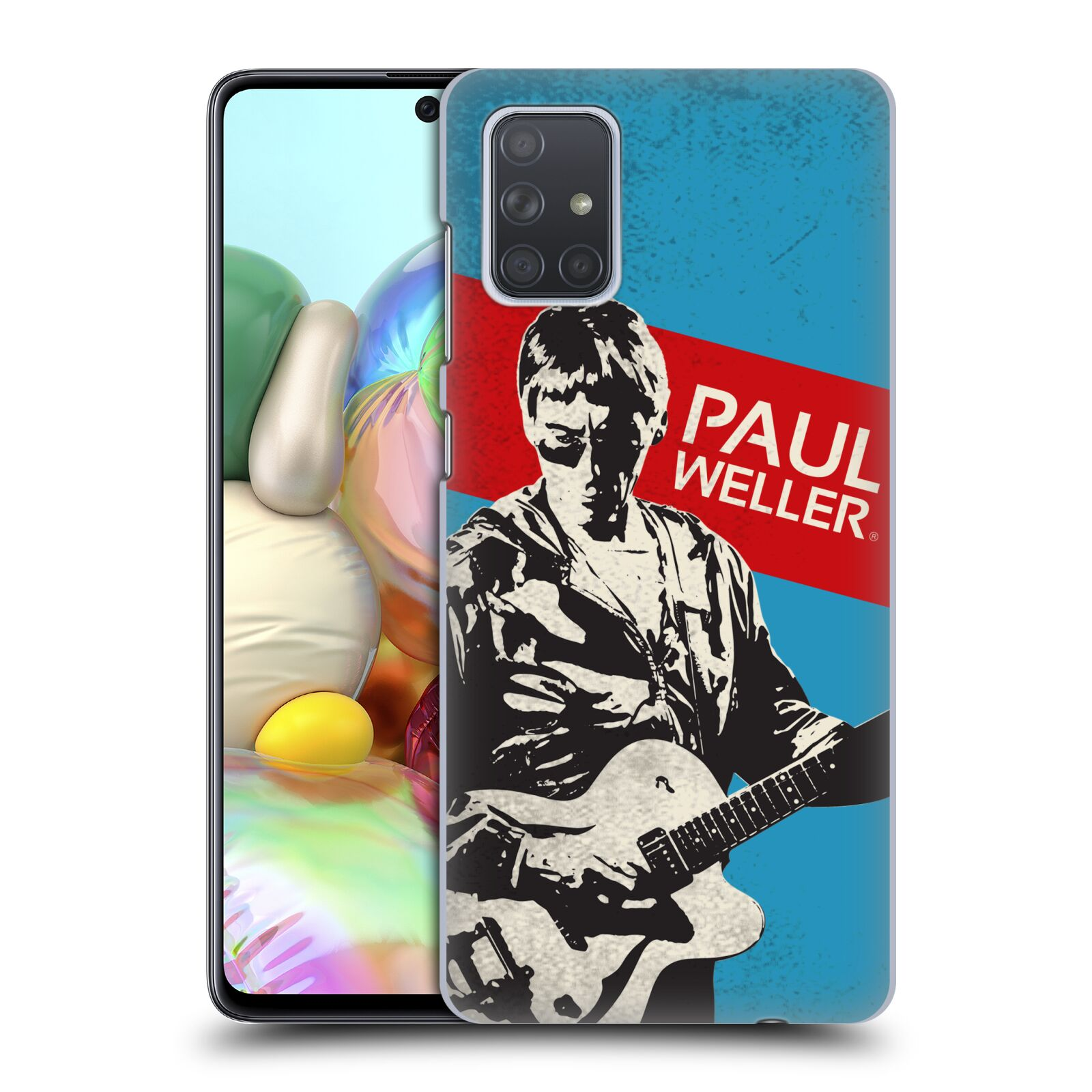 Official The Jam Key Art Paul Weller Case for Samsung Galaxy A71 (2019)