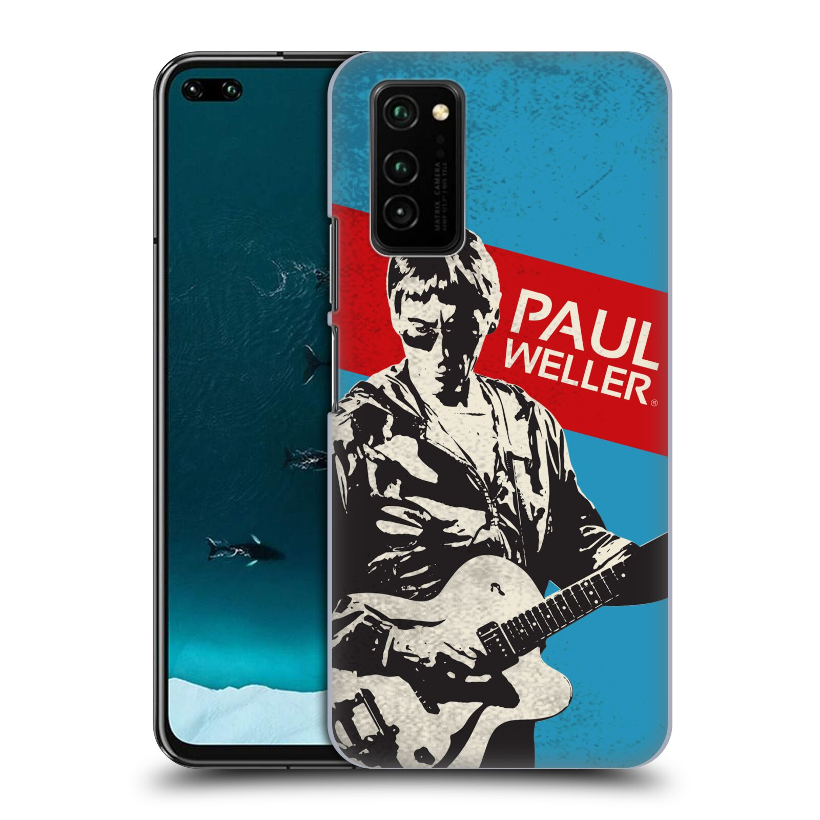 Official The Jam Key Art Paul Weller Case for Huawei Honor V30 / Honor View 30