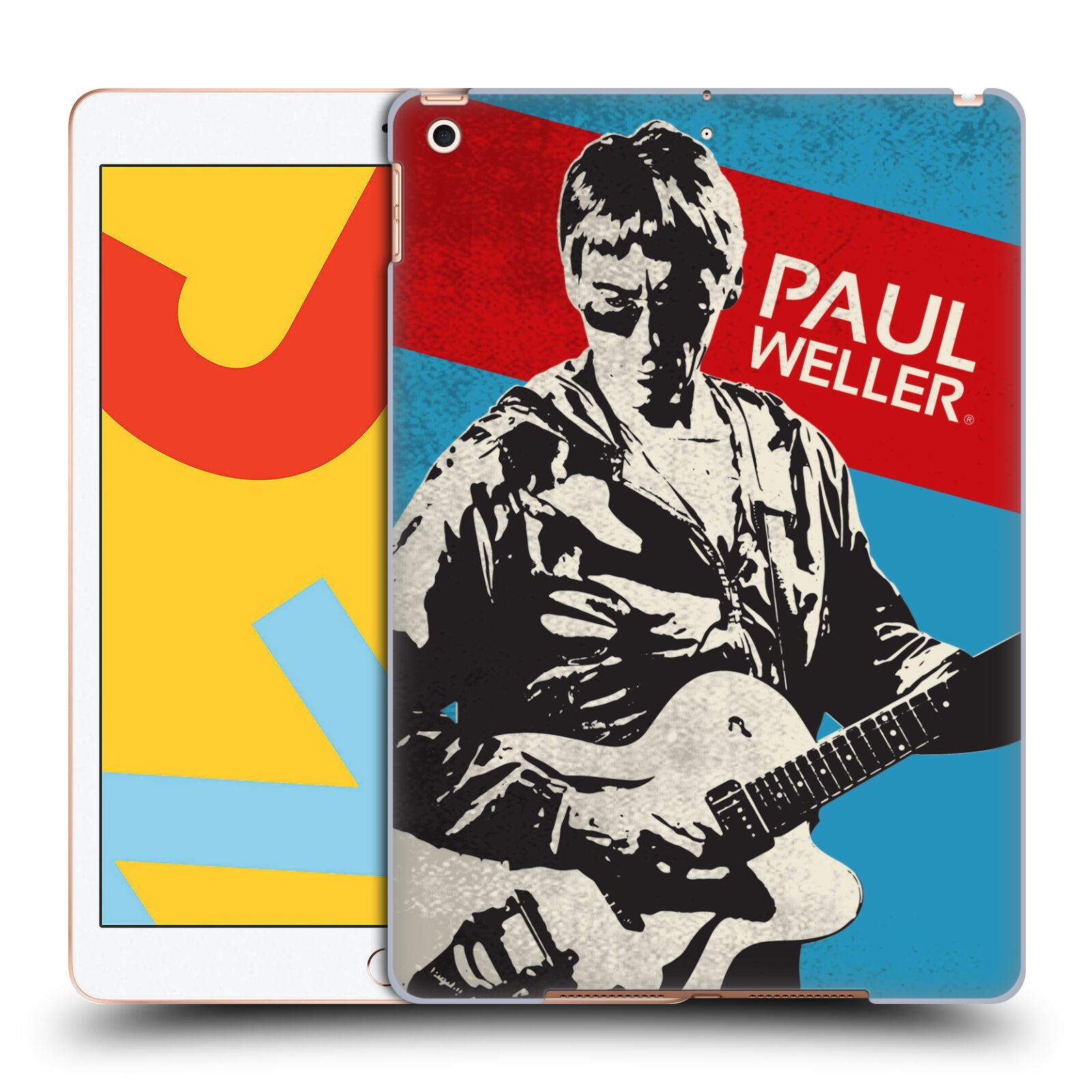 Official The Jam Key Art Paul Weller Case for Apple iPad 10.2 (2019)